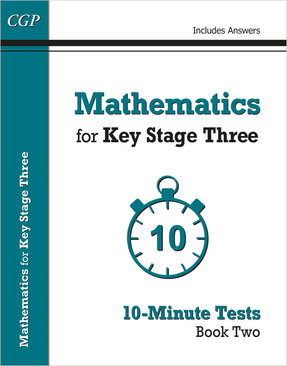M2XP31 - Mathematics for KS3: 10-Minute Tests - Book 2 (including Answers)