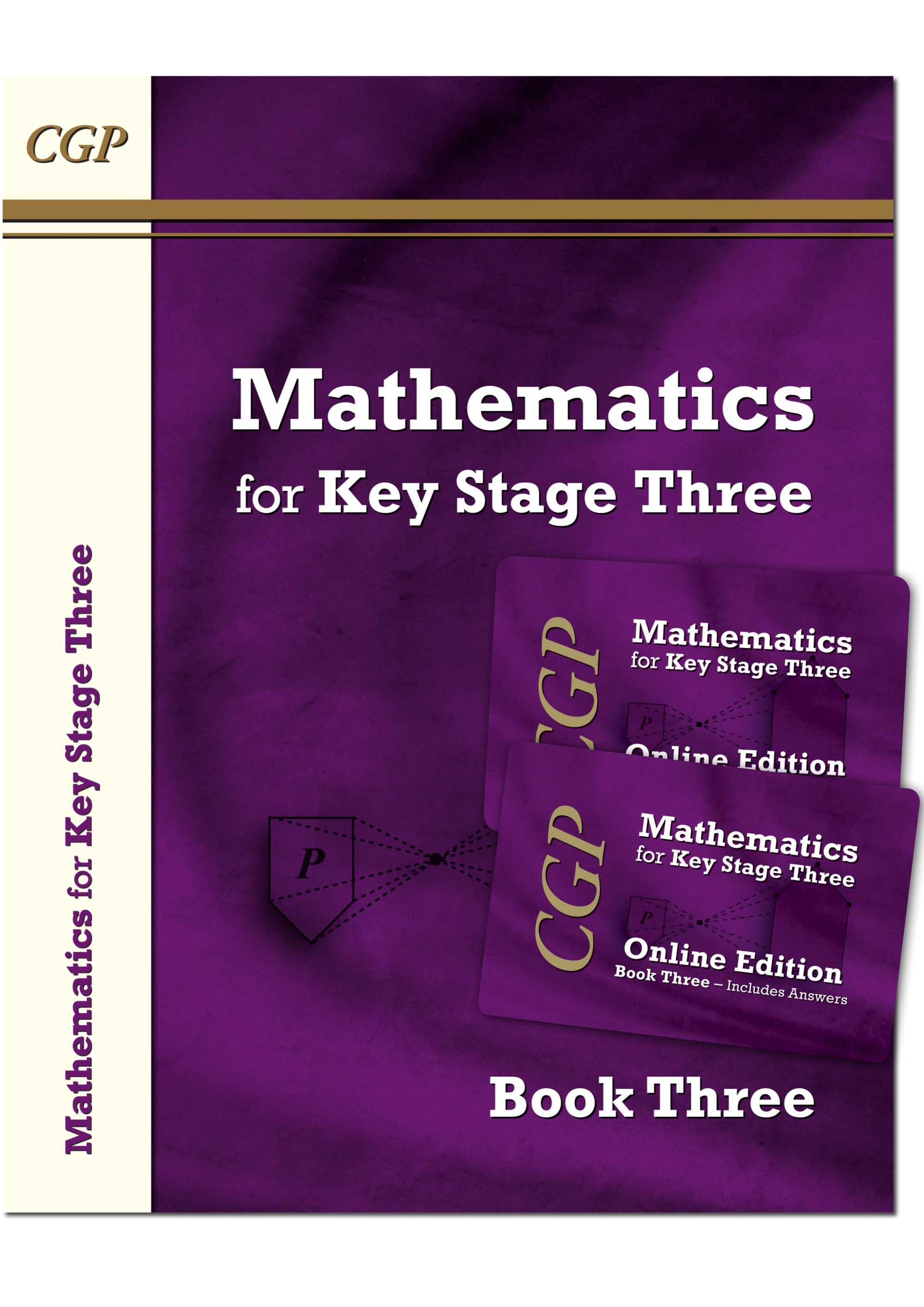 M3NB31 - KS3 Maths Textbook 3 plus two Online Editions (with answers)