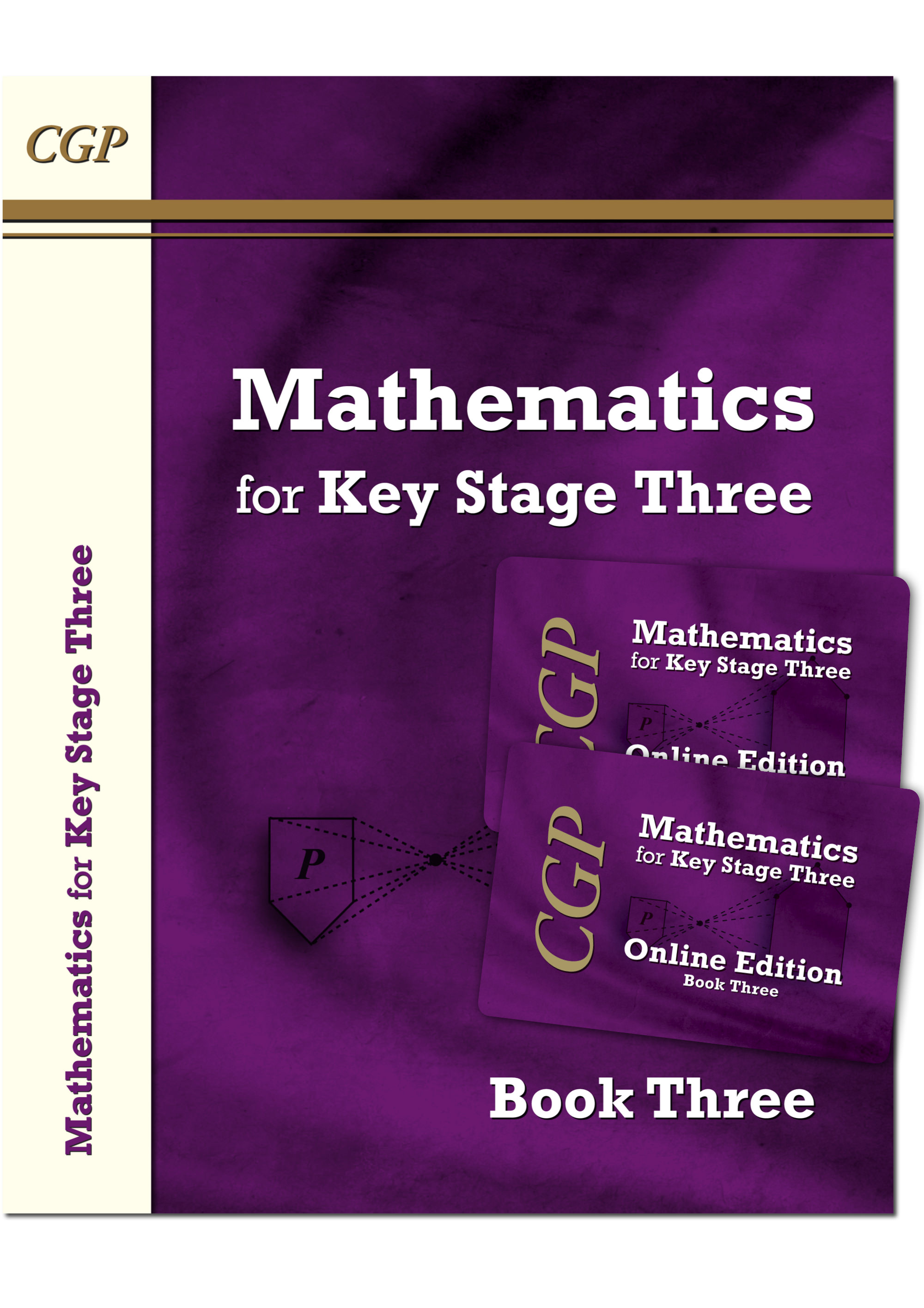 M3NNB31 - KS3 Maths Textbook 3 plus two Online Editions (without answers)