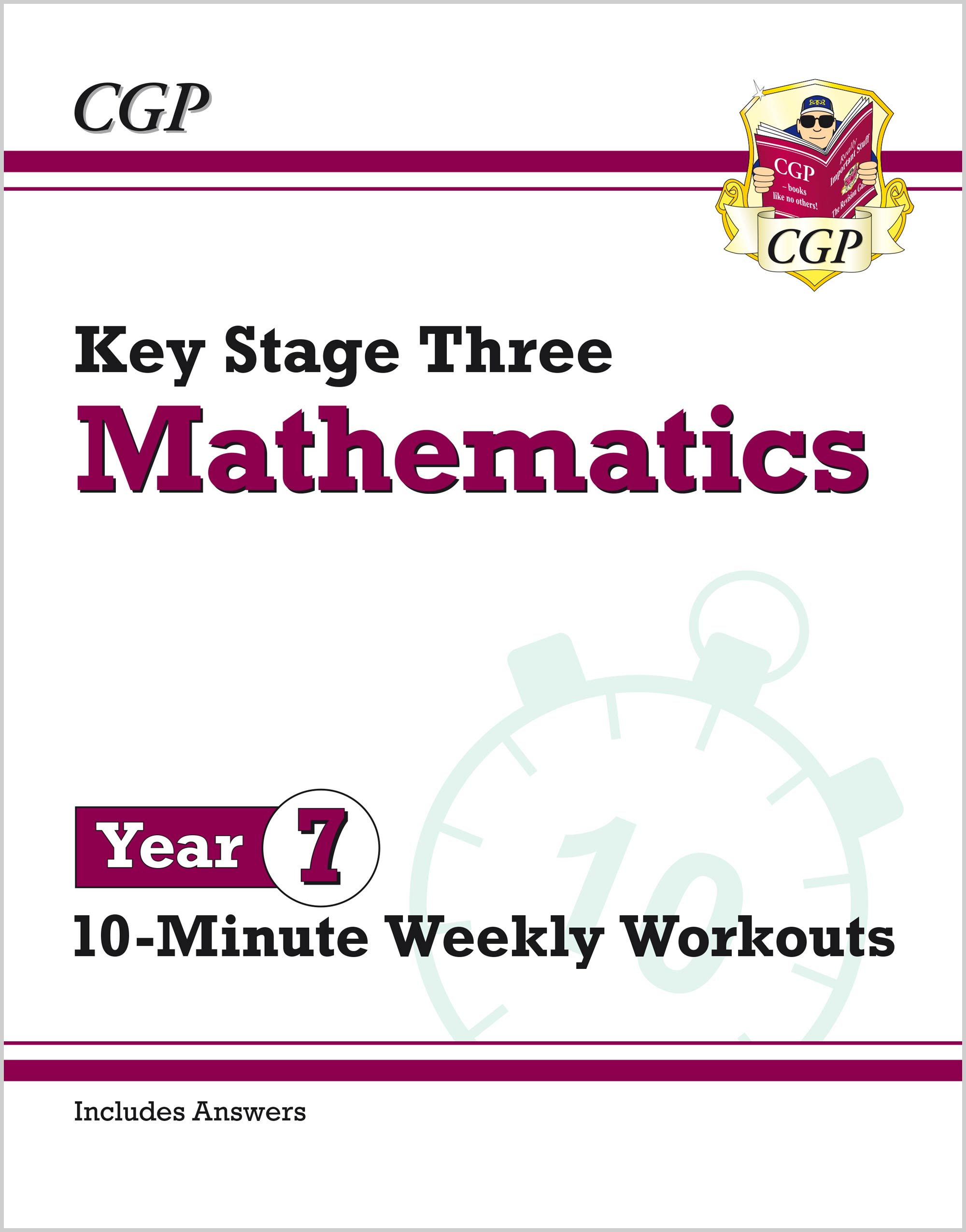 M7XW31 - New KS3 Maths 10-Minute Weekly Workouts - Year 7