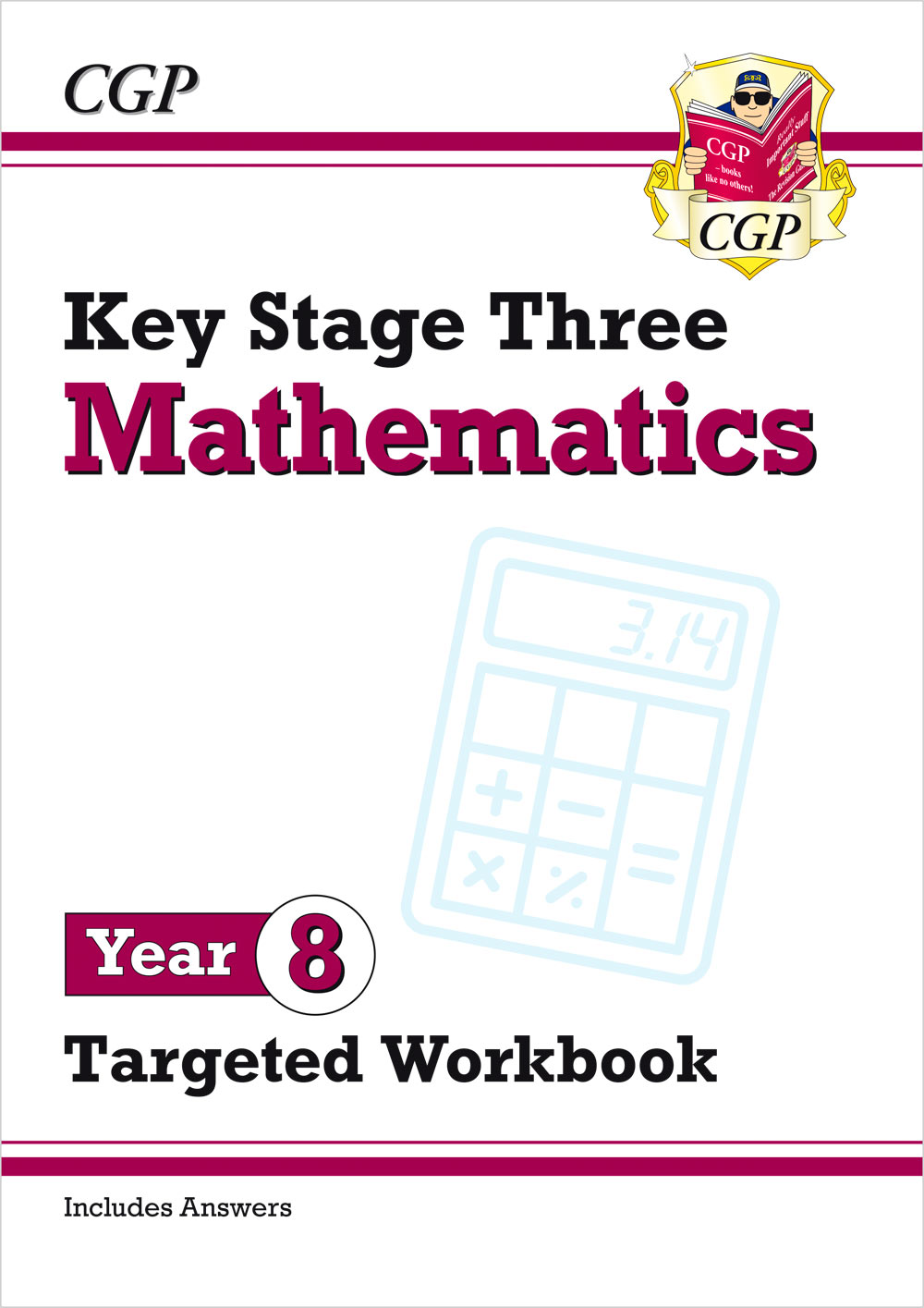 M8W32 - New KS3 Maths Year 8 Targeted Workbook (with answers)