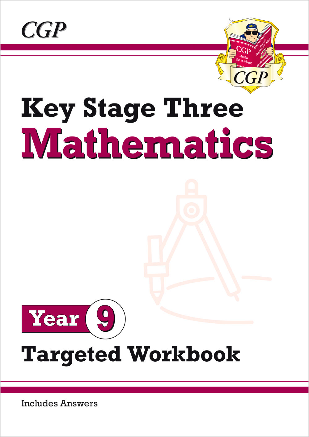 M9W32 - New KS3 Maths Year 9 Targeted Workbook (with answers)