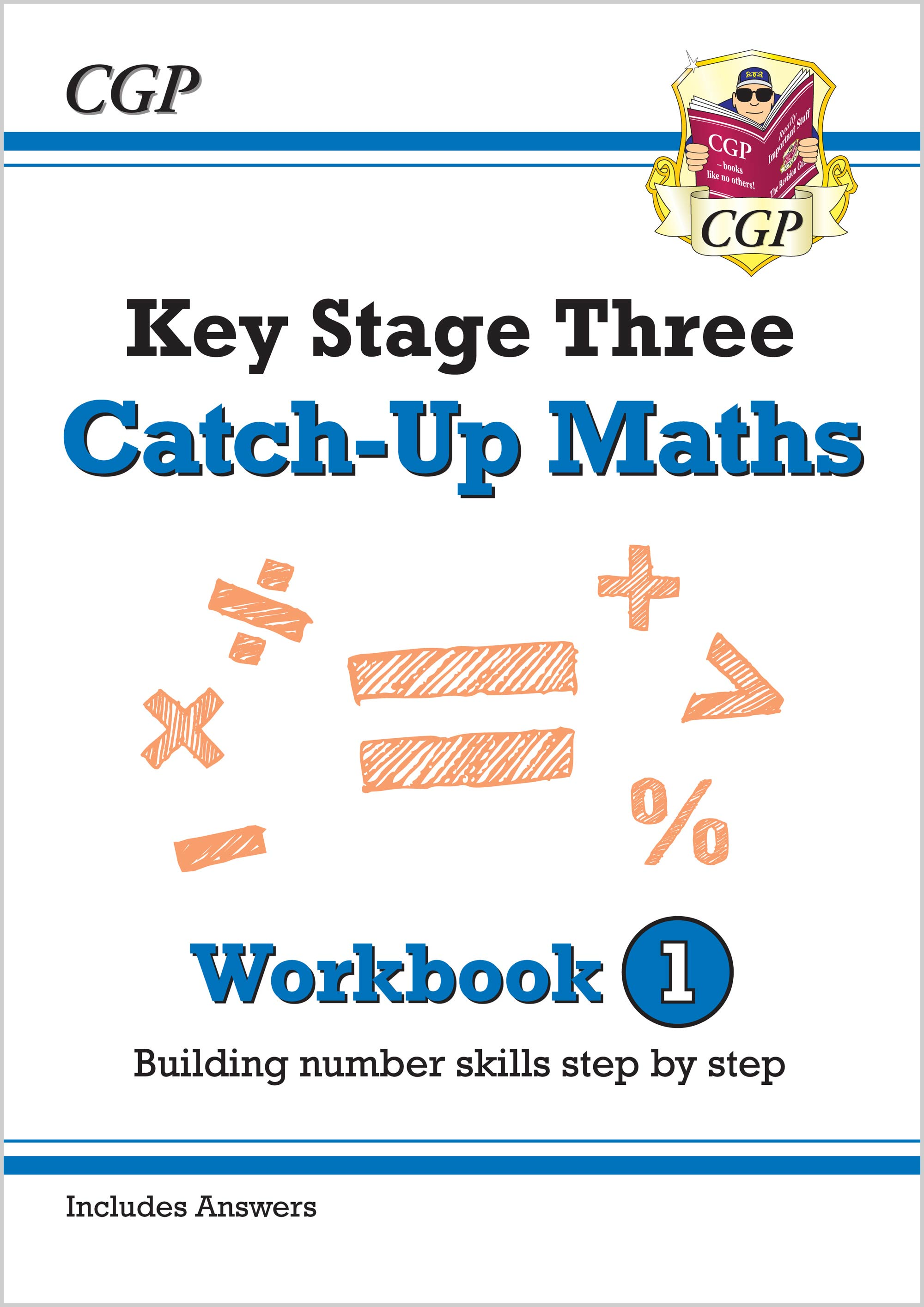 MBNW131 - New KS3 Maths Catch-Up Workbook 1 (with Answers)