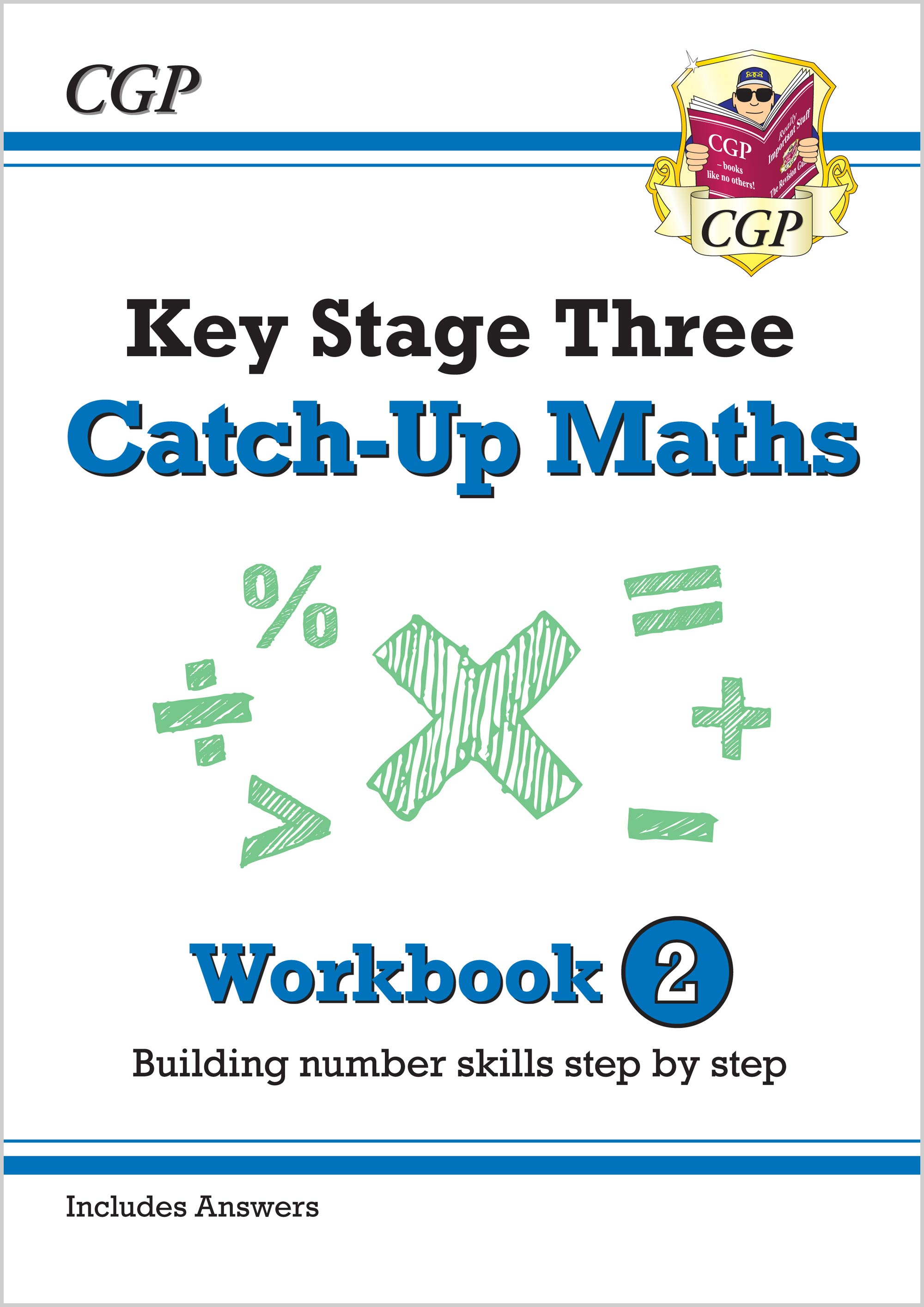 MBNW231 - New KS3 Maths Catch-Up Workbook 2 (with Answers)