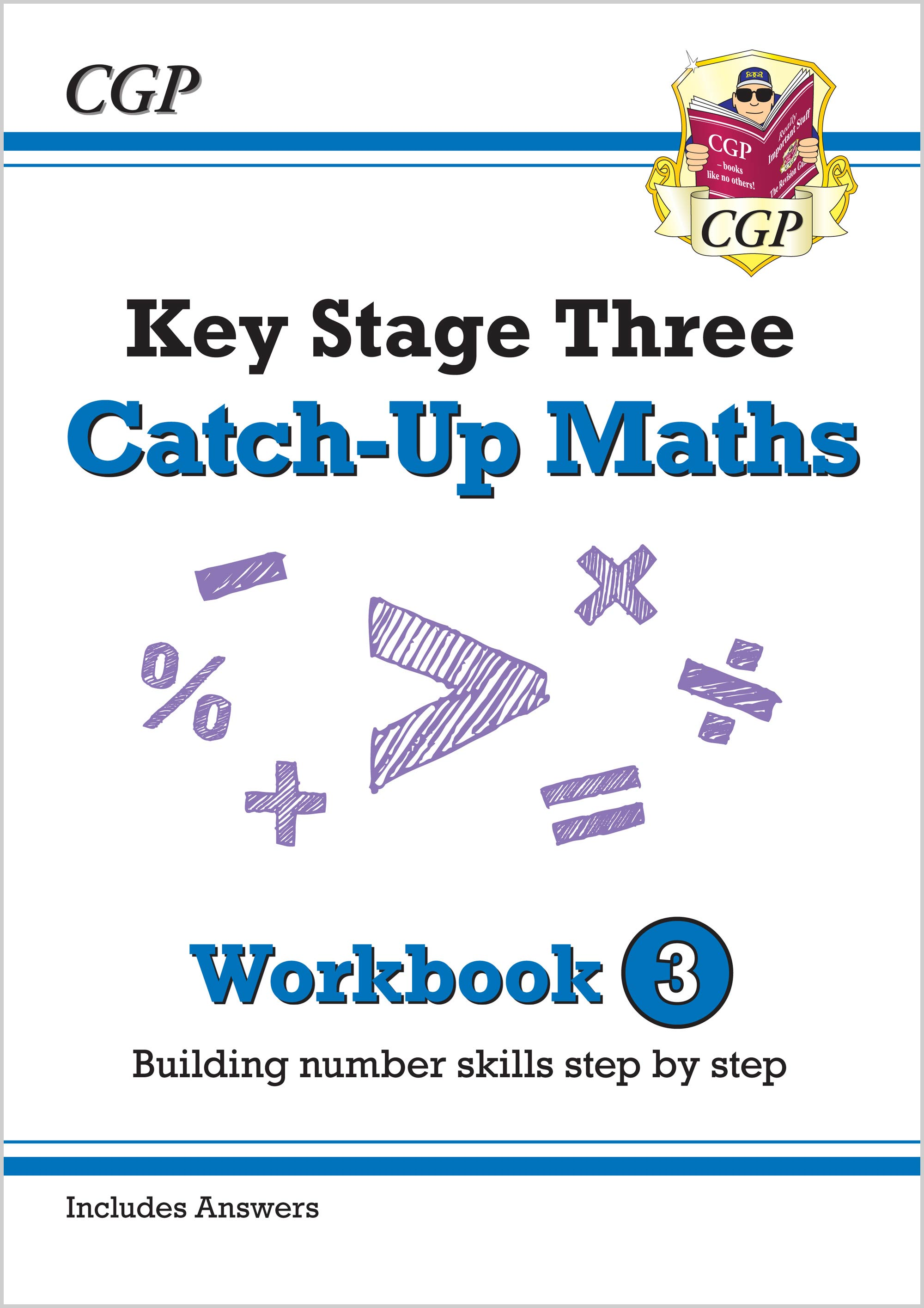 MBNW331 - New KS3 Maths Catch-Up Workbook 3 (with Answers)