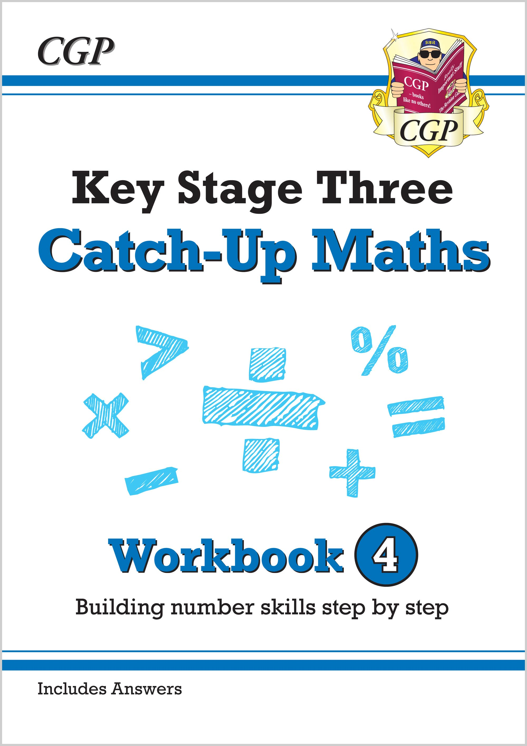 MBNW431 - New KS3 Maths Catch-Up Workbook 4 (with Answers)