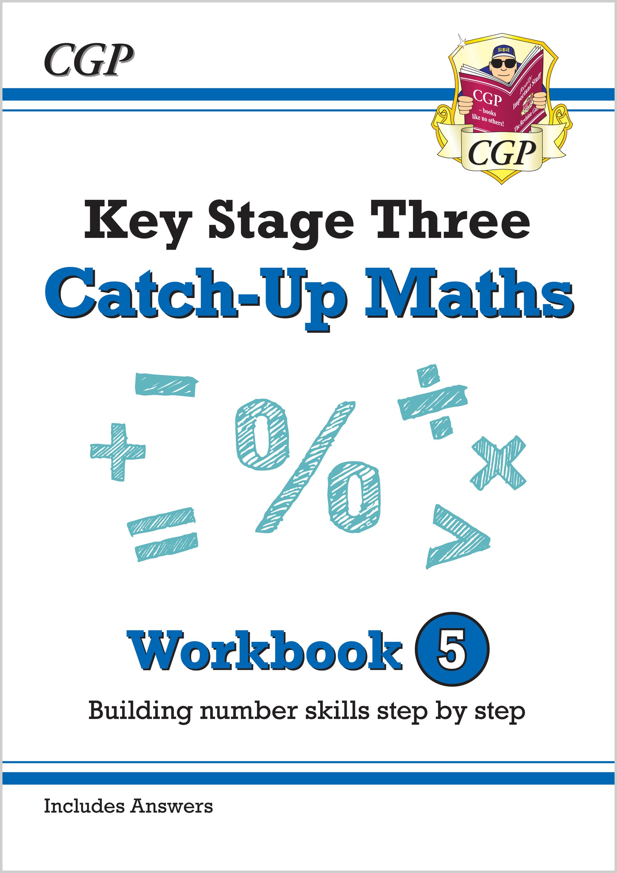 MBNW531 - New KS3 Maths Catch-Up Workbook 5 (with Answers)