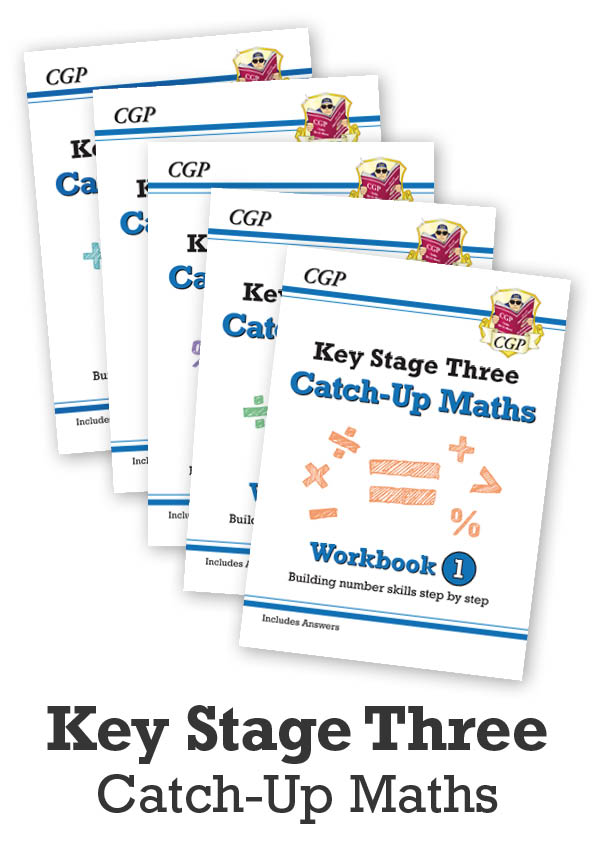 MBNWB31 - KS3 Maths Catch-Up Complete Bundle: Workbooks 1-5