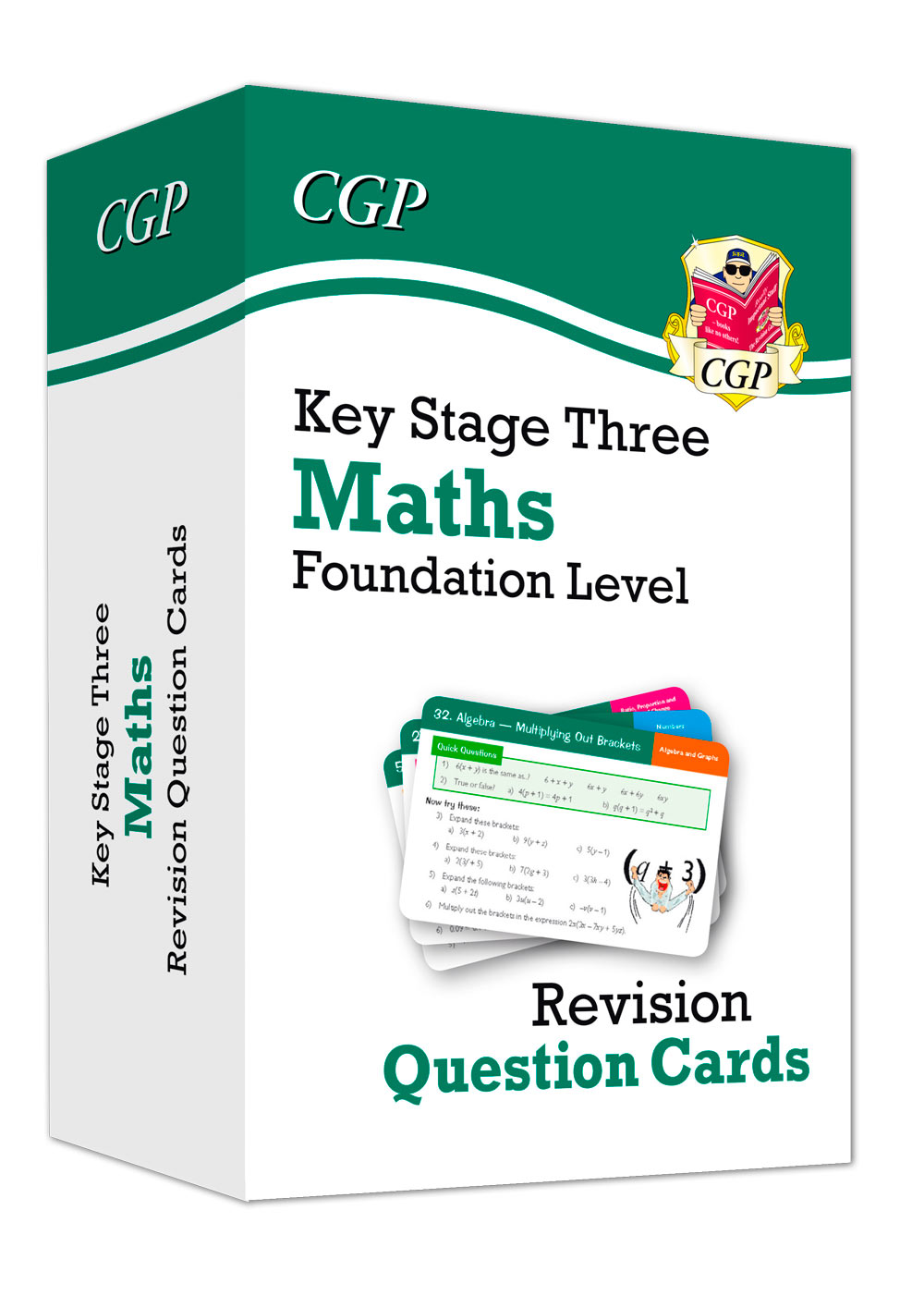 MFF31 - New KS3 Maths Revision Question Cards - Foundation