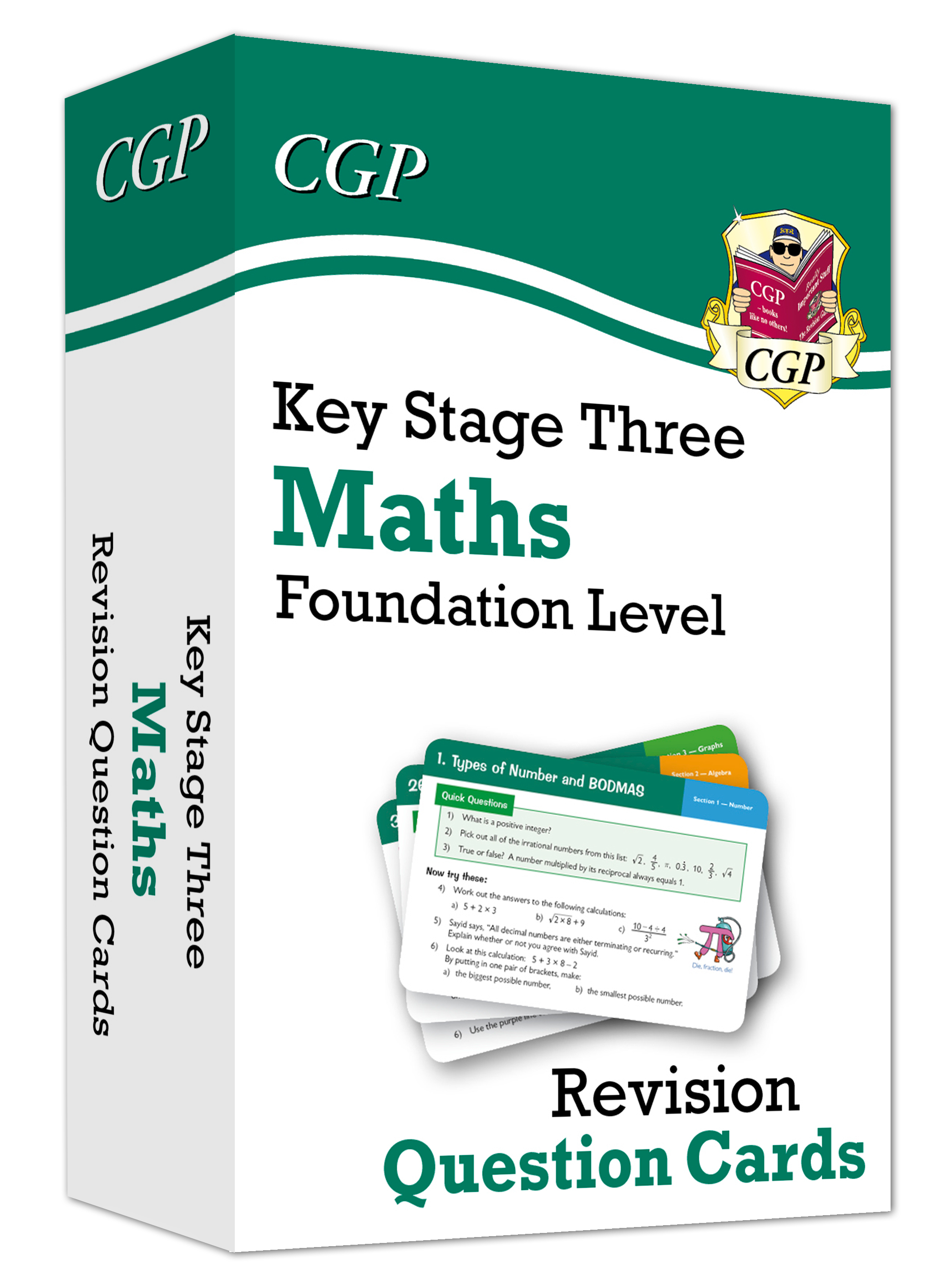 MFF31D - New KS3 Maths Revision Question Cards - Foundation Online Edition