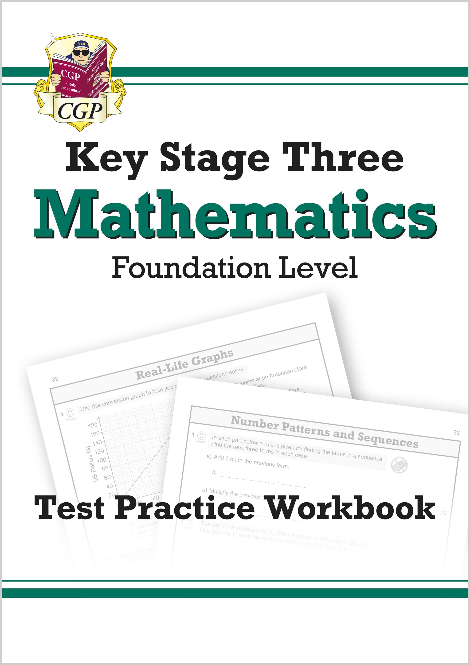 MFQ32 - KS3 Maths Test Practice Workbook - Foundation