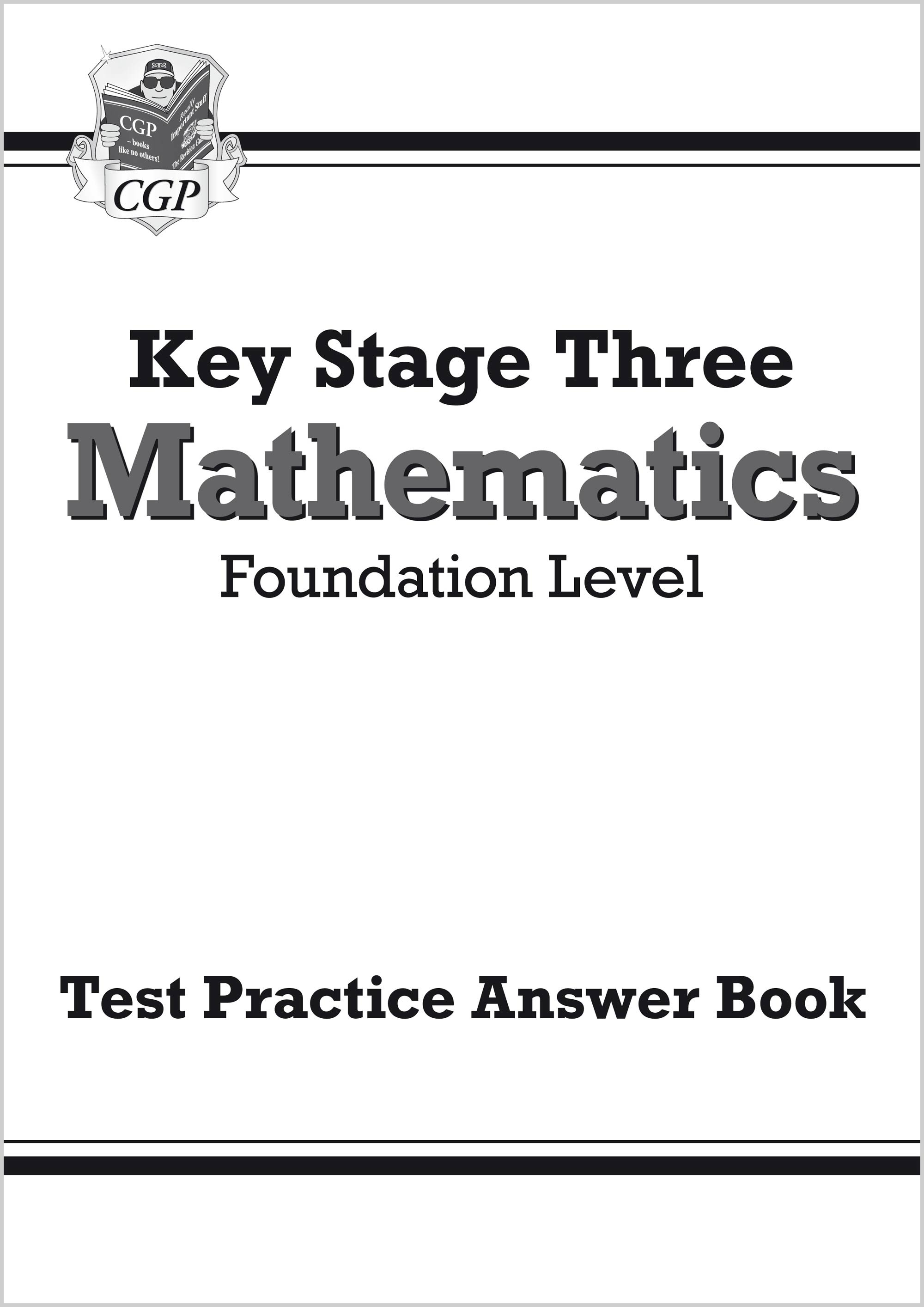 MFQA32 - KS3 Maths Answers for Test Practice Workbook - Foundation