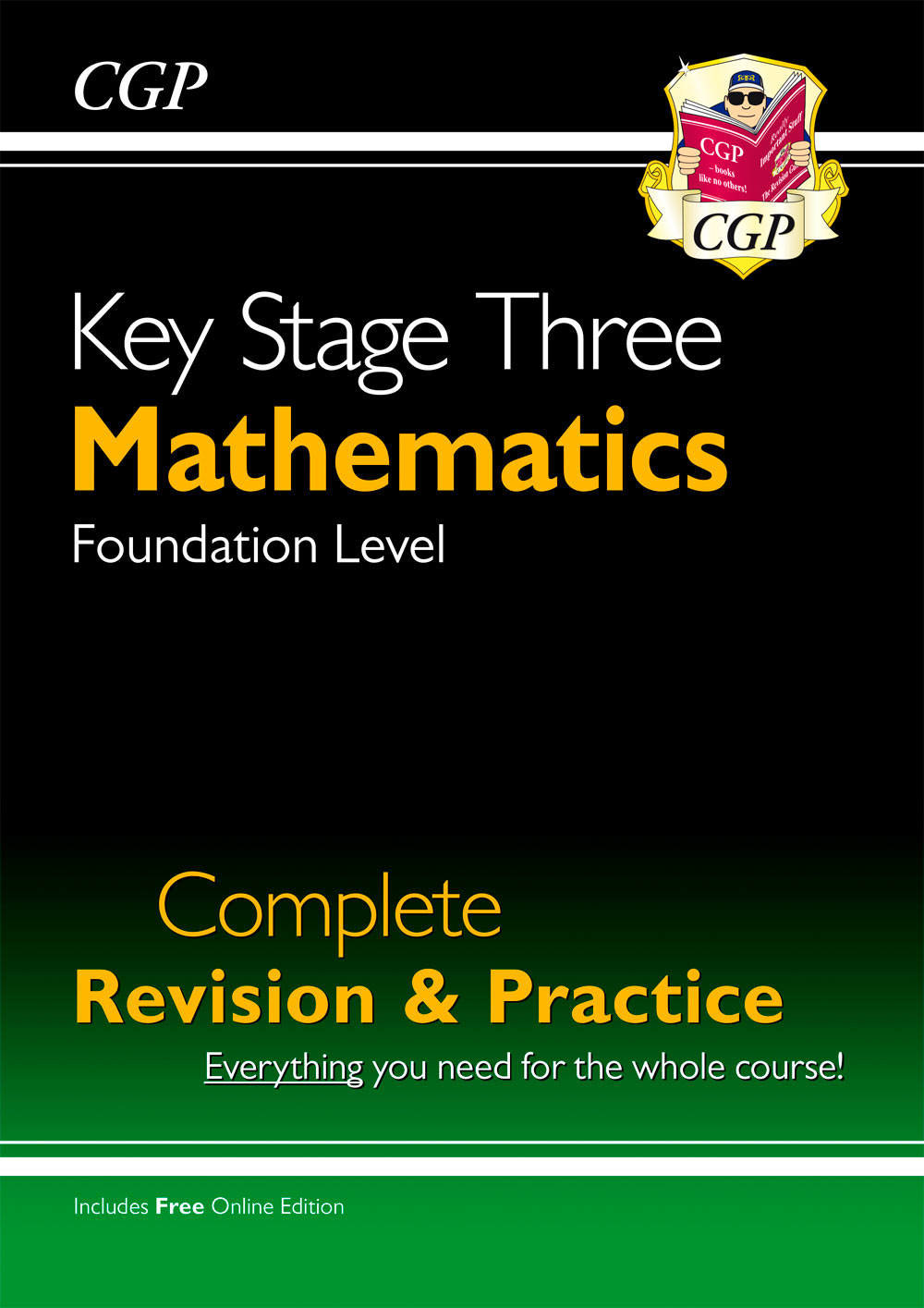MFS31 - New KS3 Maths Complete Study & Practice - Foundation (with Online Edition)
