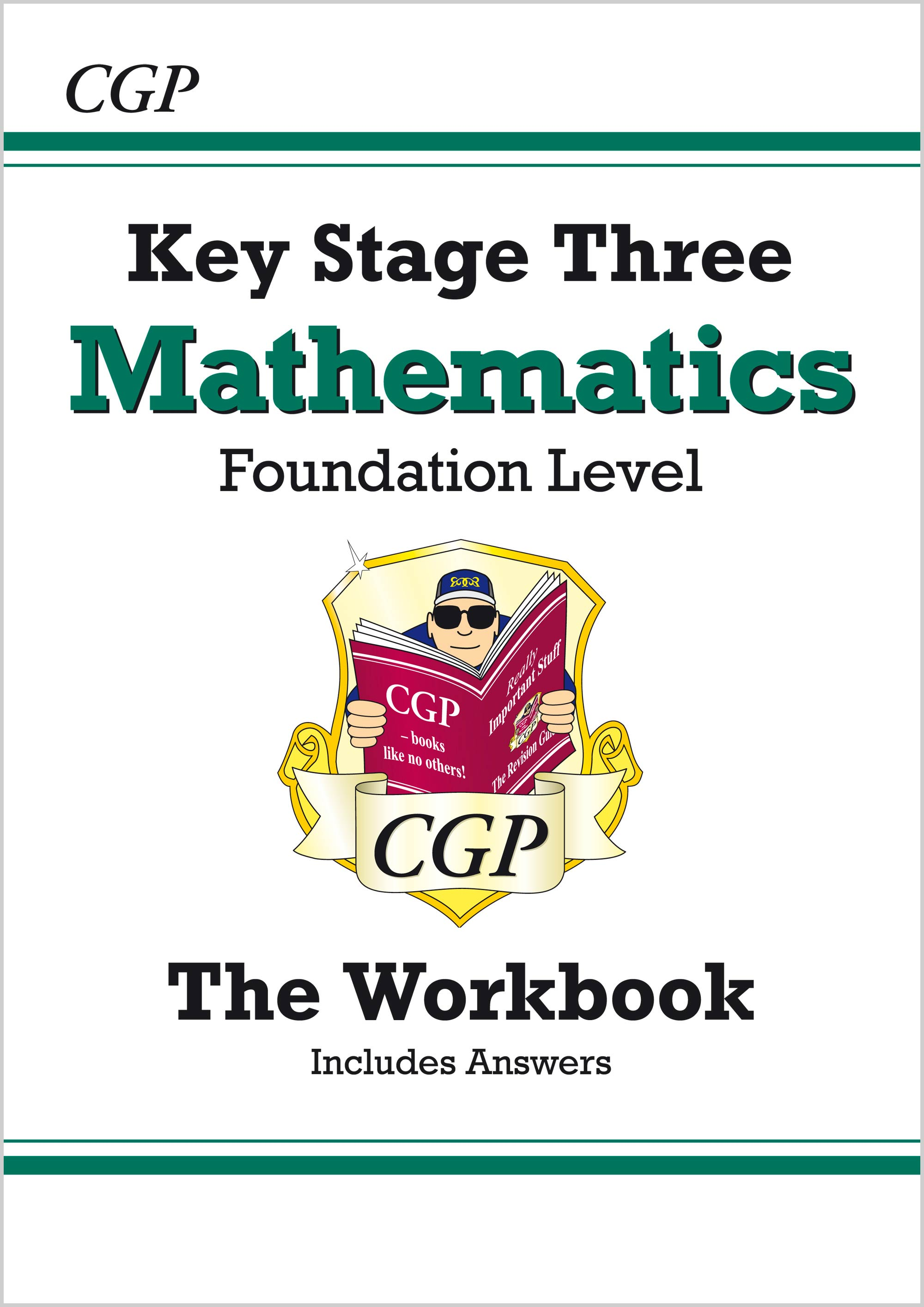 MFW32B - KS3 Maths Workbook (with answers) - Foundation
