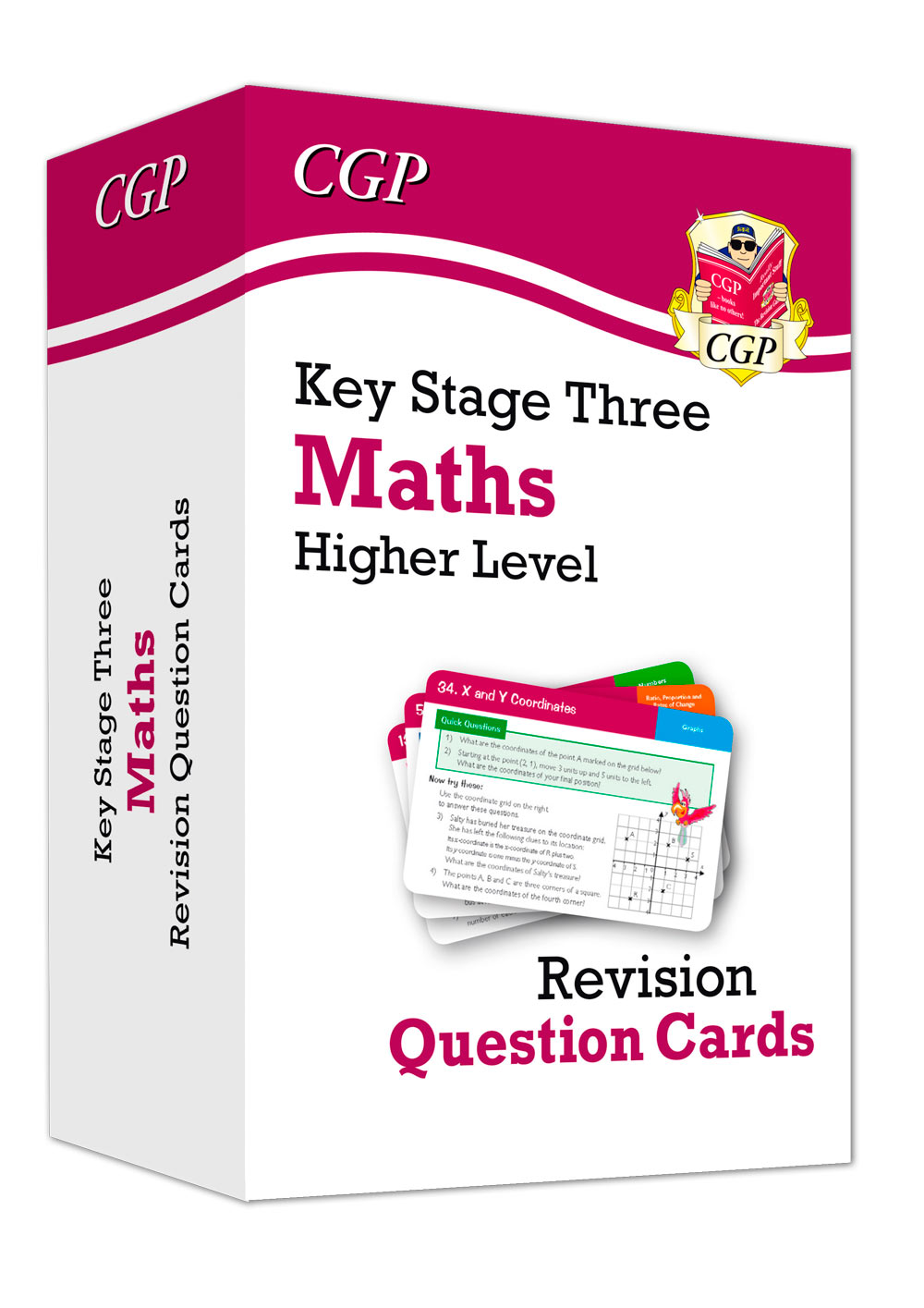 MHF31 - New KS3 Maths Revision Question Cards - Higher
