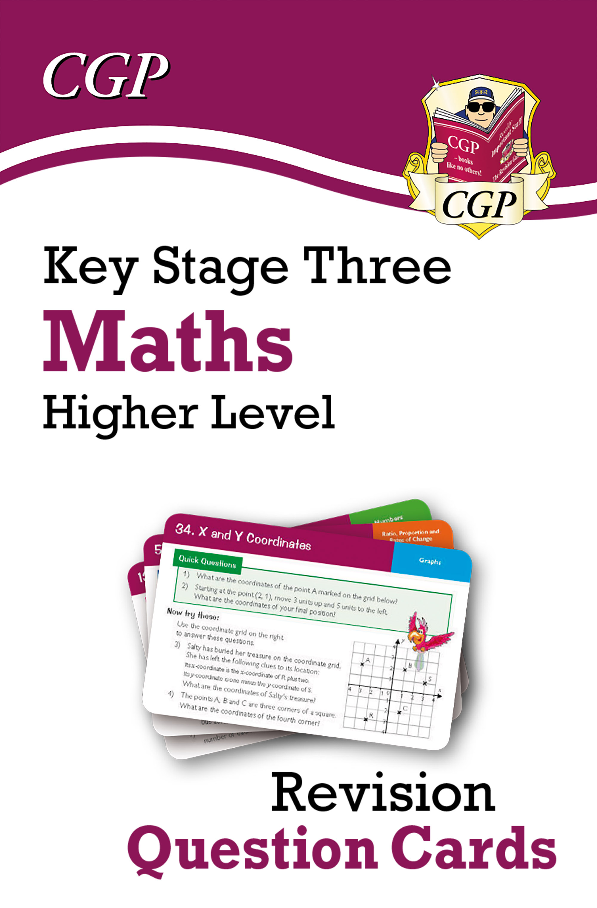 MHF31D - New KS3 Maths Revision Question Cards - Higher Online Edition