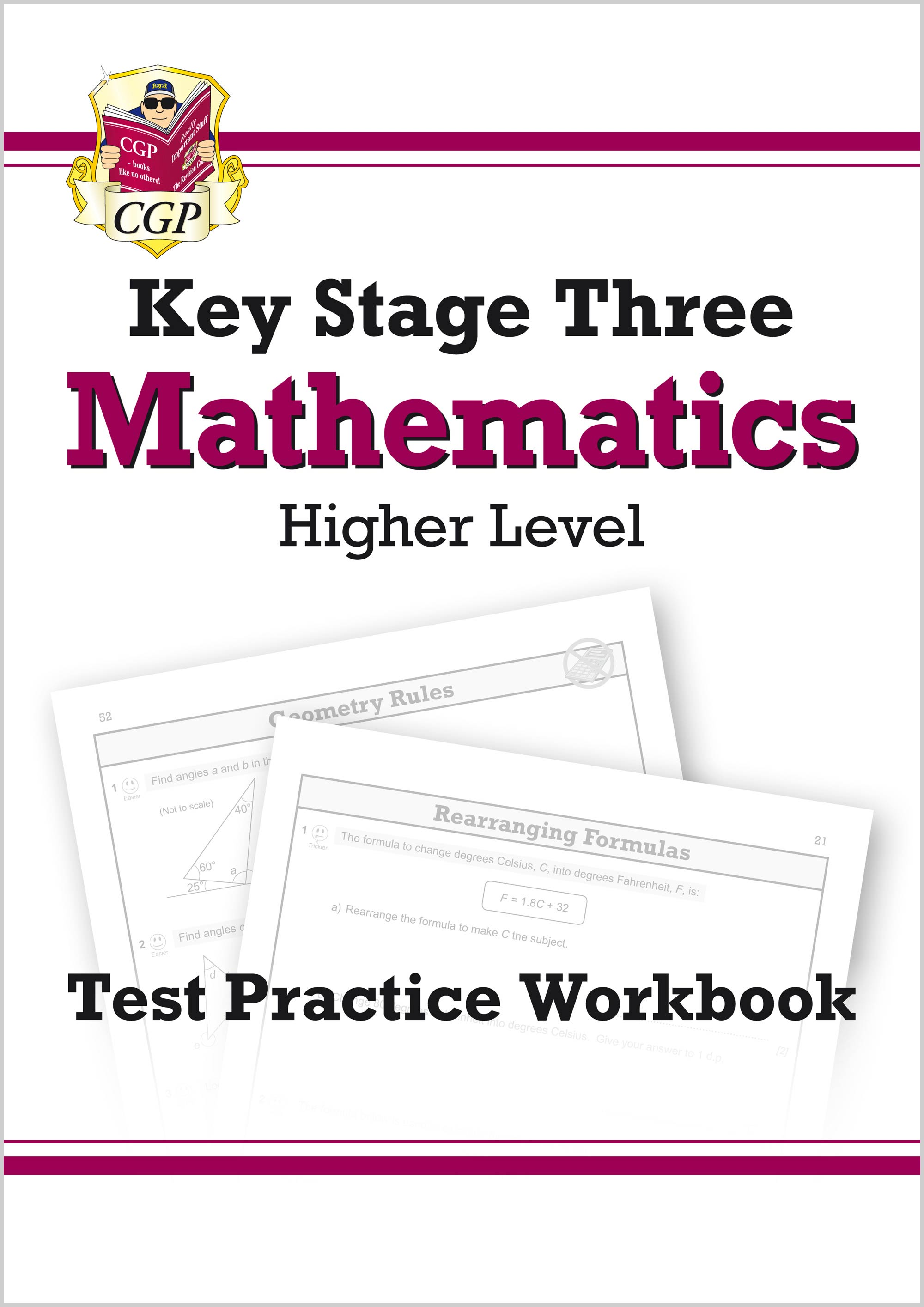 MHQ32 - KS3 Maths Test Practice Workbook - Higher