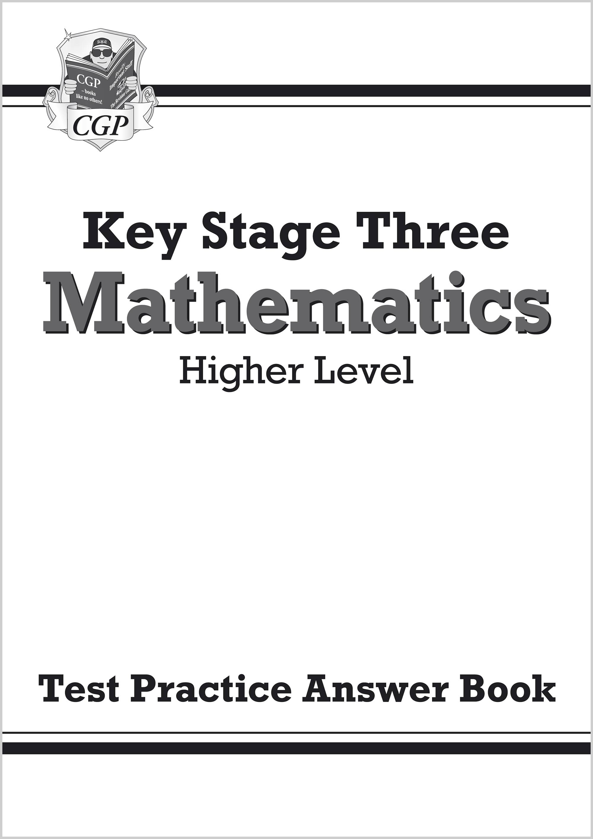 MHQA32 - KS3 Maths Answers for Test Practice Workbook - Higher