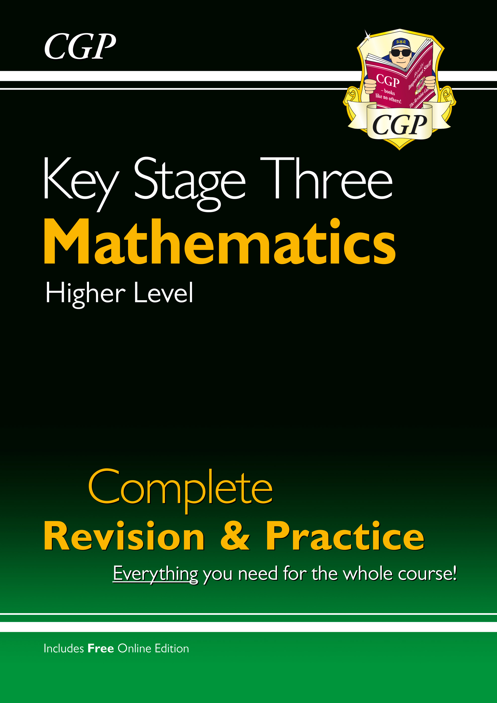 MHS34 - New KS3 Maths Complete Study & Practice - Higher (with Online Edition)