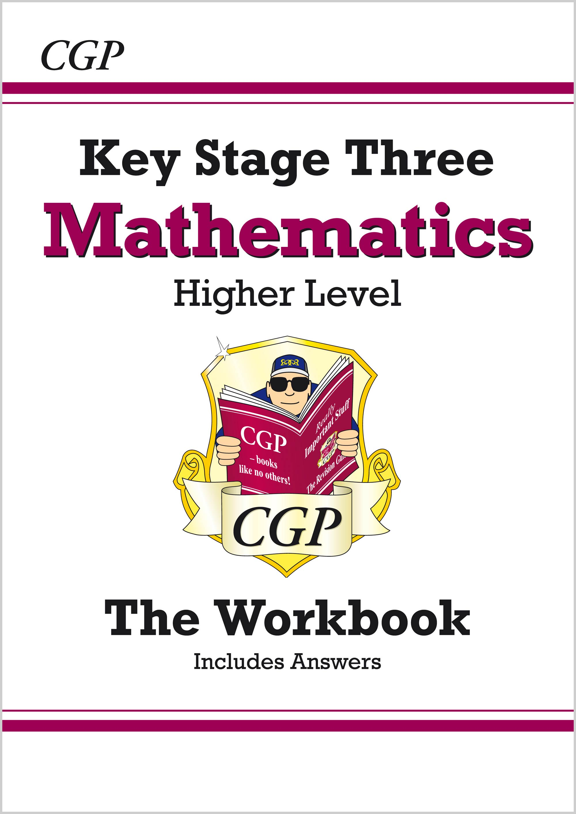 MHW32B - KS3 Maths Workbook (with answers) - Higher