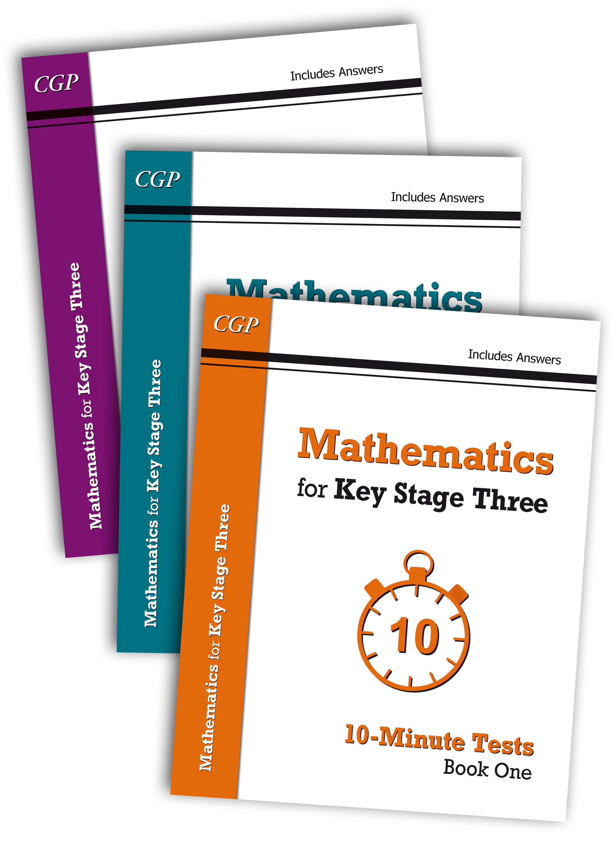 MXB31 - Mathematics for KS3: 10-Minute Tests Complete Bundle