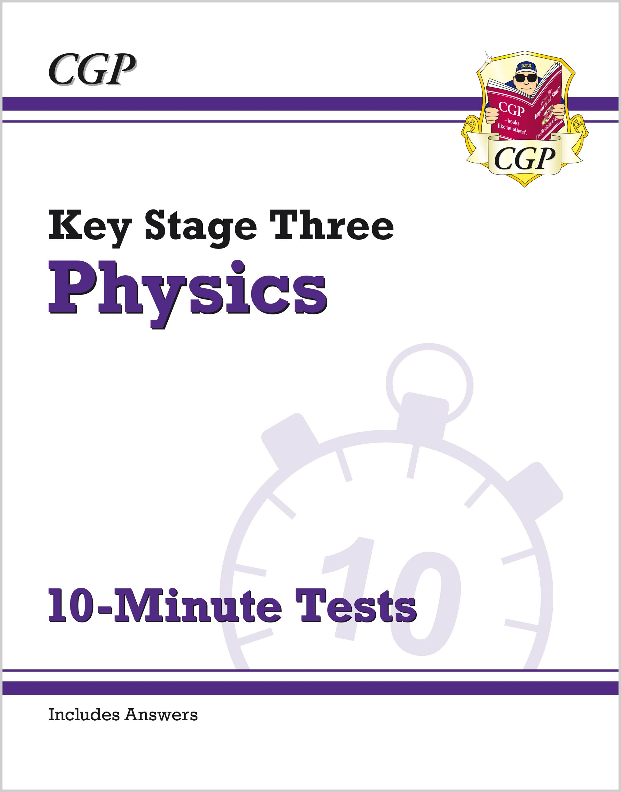 PXP31 - New KS3 Physics 10-Minute Tests (with answers)