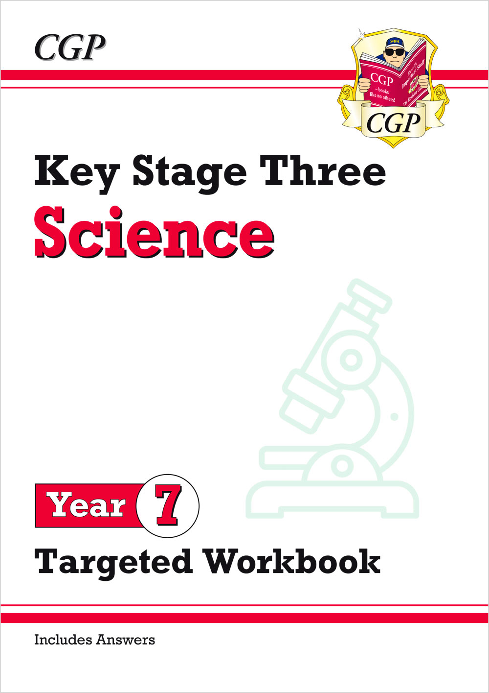 S7W32 - New KS3 Science Year 7 Targeted Workbook (with answers)