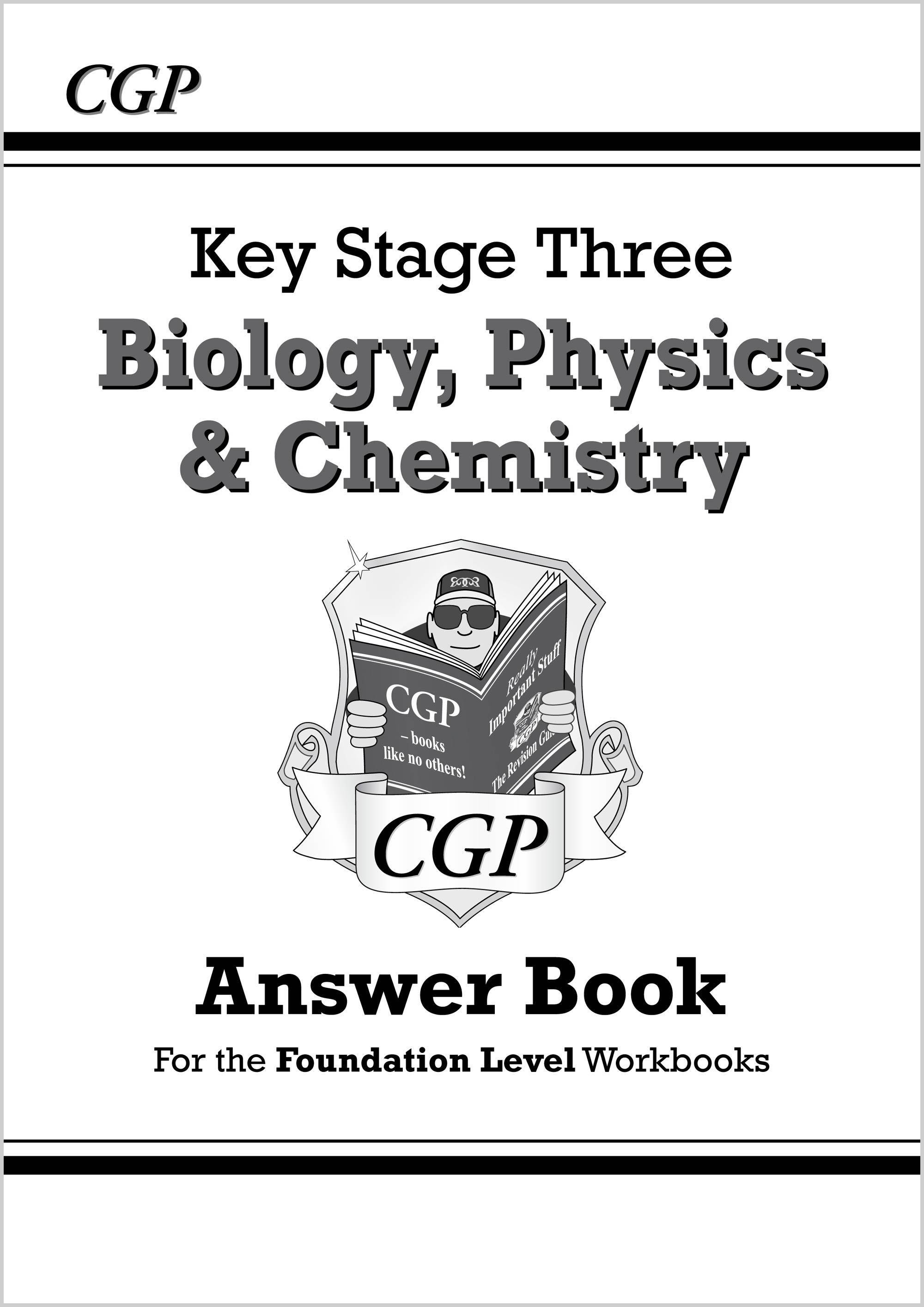SFA32 - KS3 Science Answers for Workbooks (Bio/Chem/Phys) - Foundation