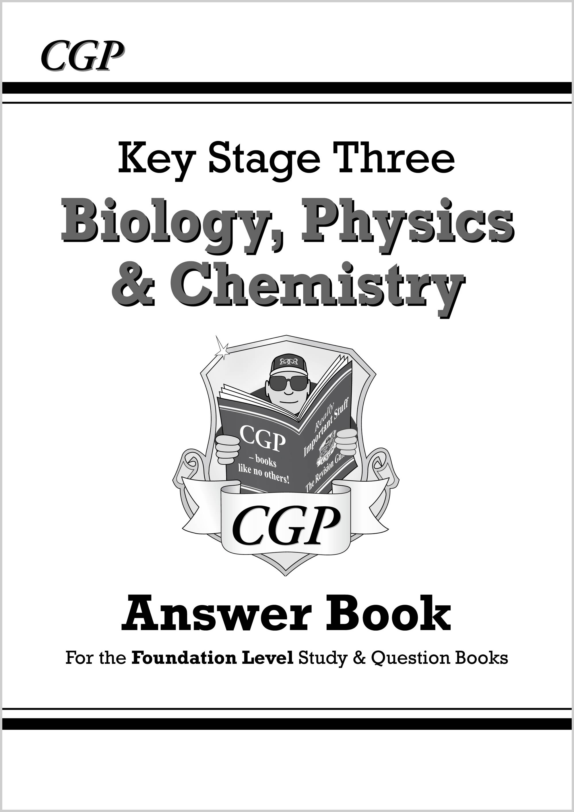 SFQA32 - KS3 Science Answers for Study & Question Books (Bio/Chem/Phys) - Foundation