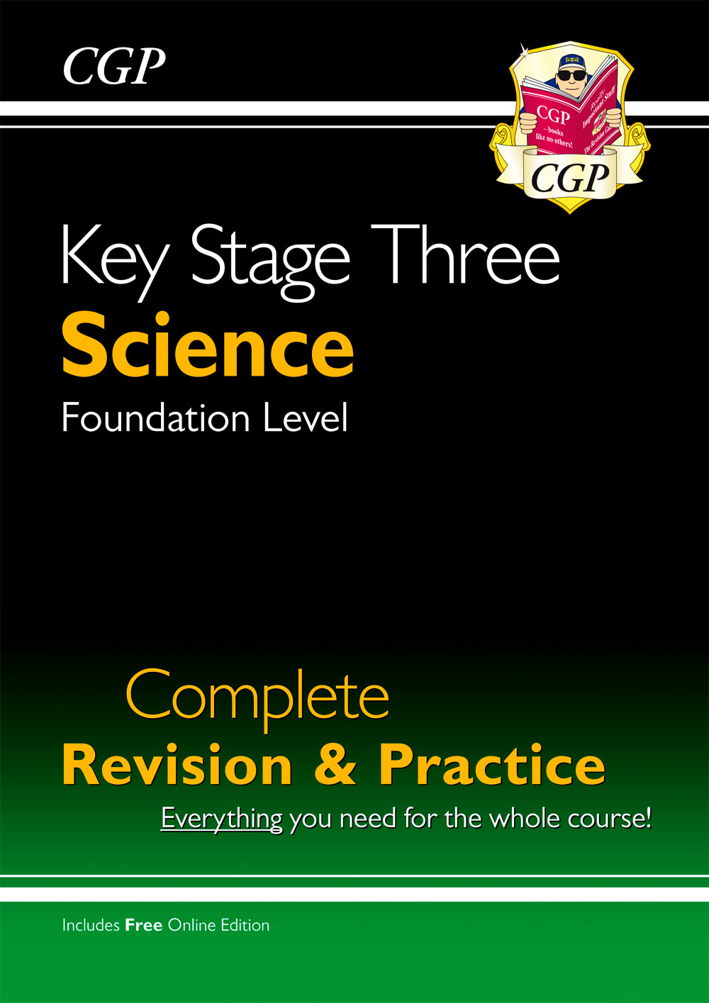 SFS31 - KS3 Science Complete Revision & Practice - Foundation (with Online Edition)