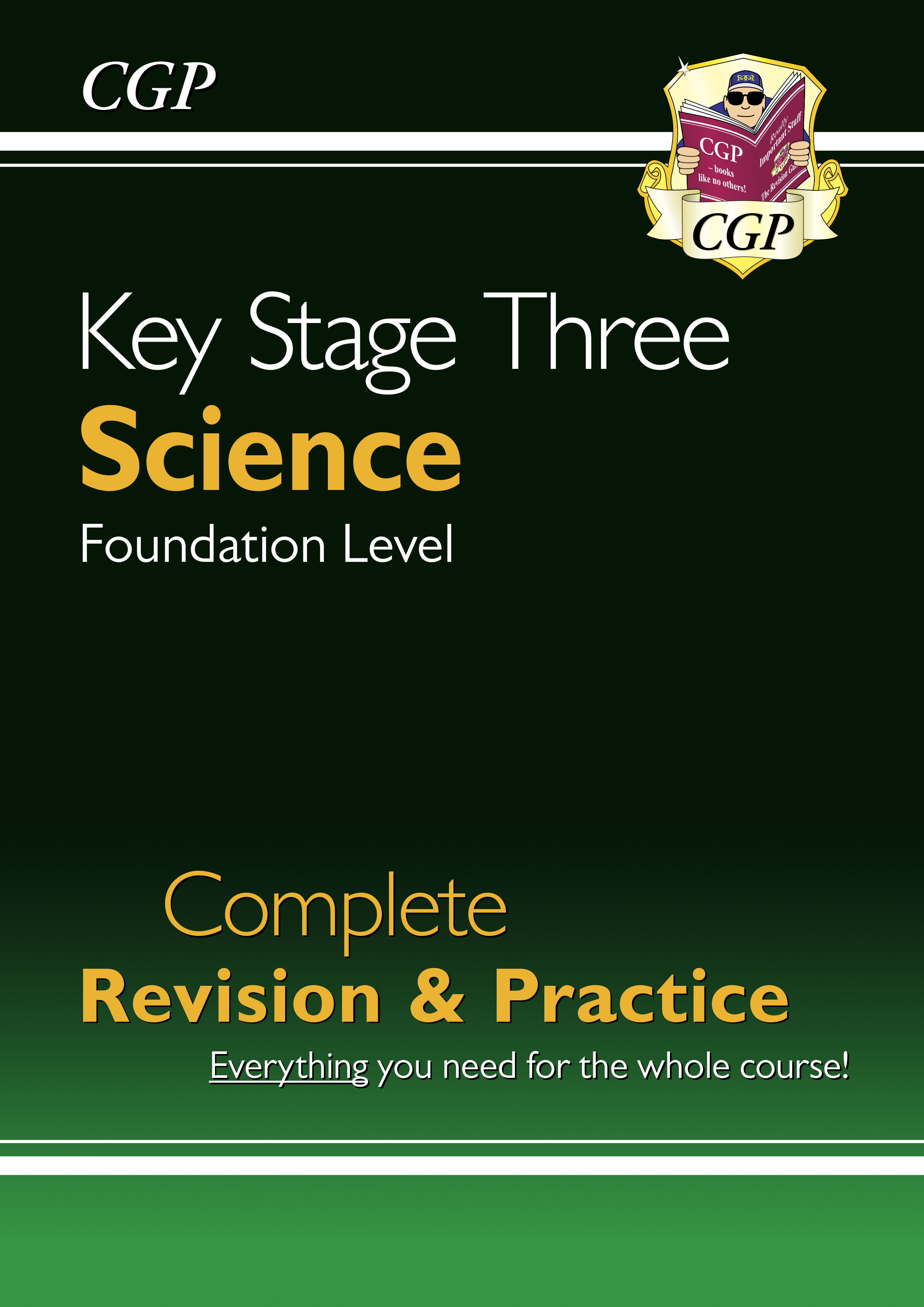 SFS31DK - New KS3 Science Complete Study & Practice - Foundation (with Online Edition)