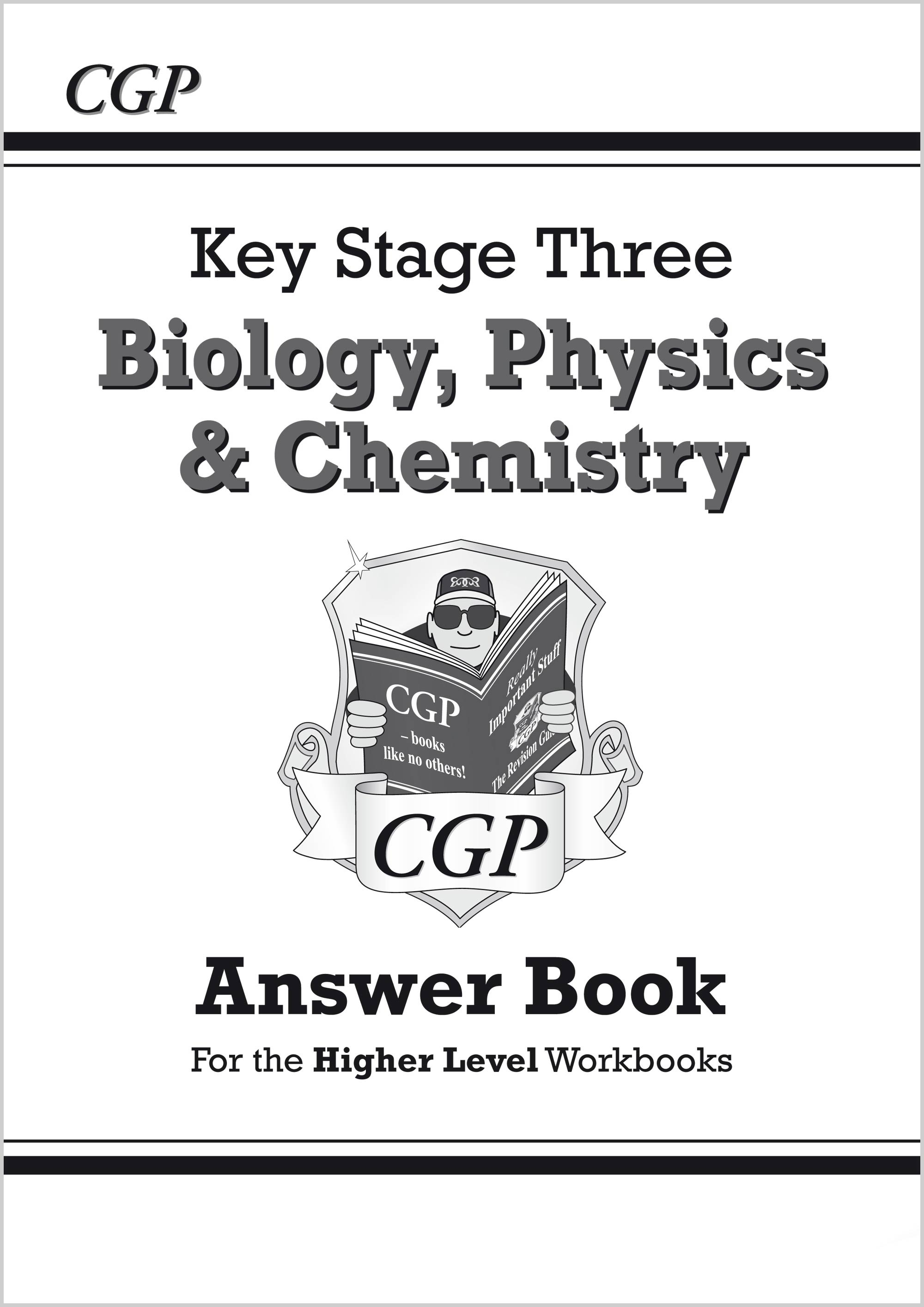 SHA32 - KS3 Science Answers for Workbooks (Bio/Chem/Phys) - Higher