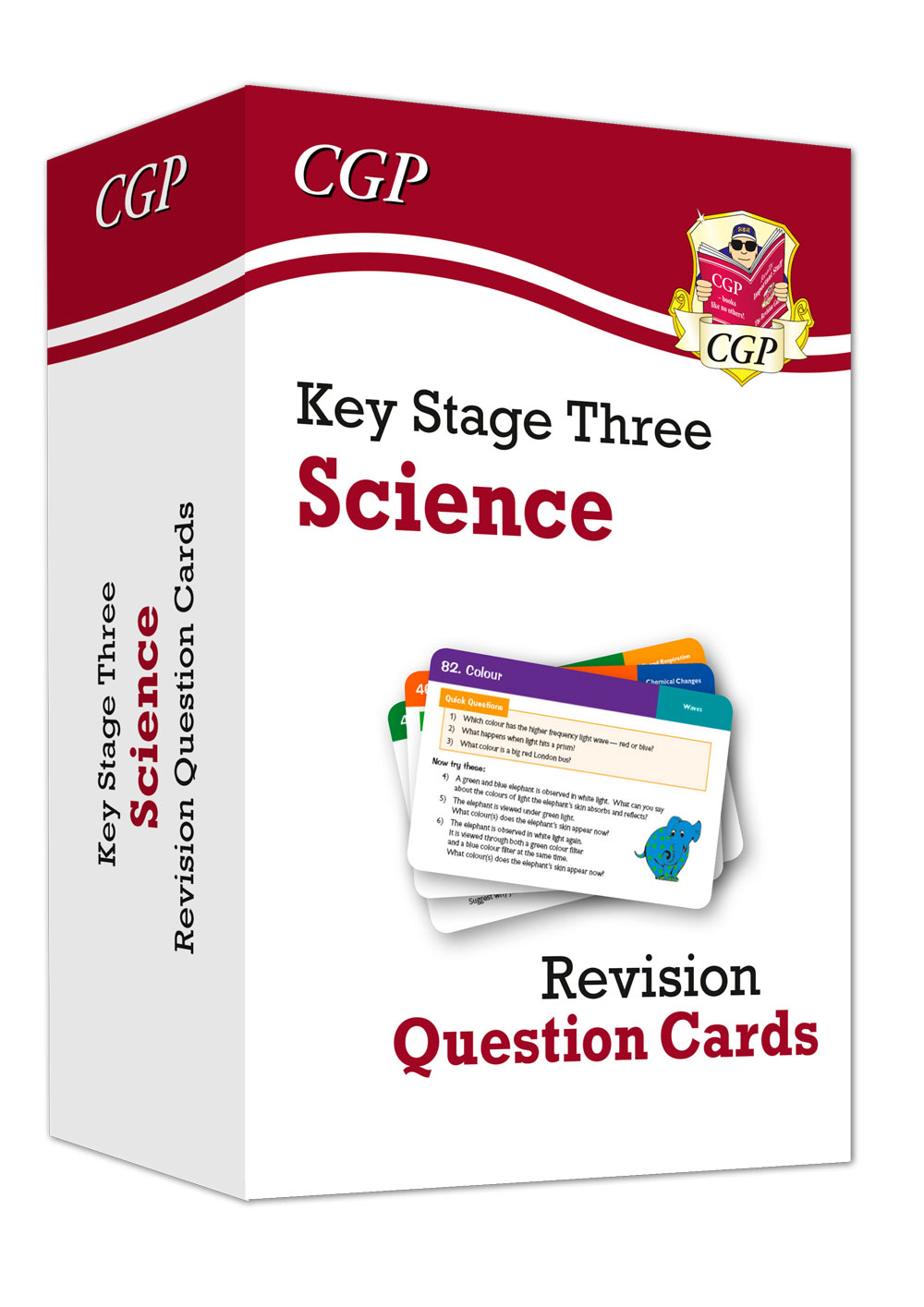 SHF31DK - New KS3 Science Revision Question Cards