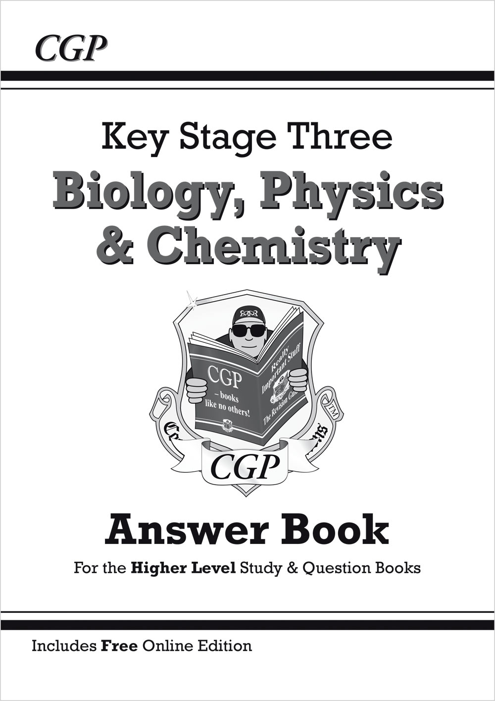 SHQA32 - KS3 Science Answers for Study & Question Books (Bio/Chem/Phys) - Higher