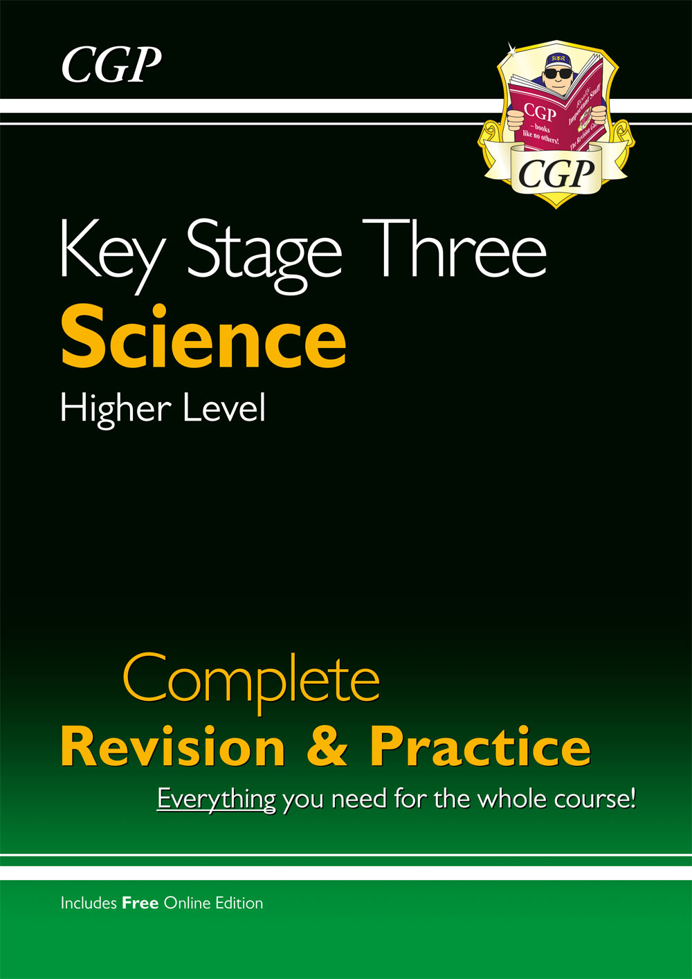 SHS34 - KS3 Science Complete Study & Practice - Higher (with Online Edition)