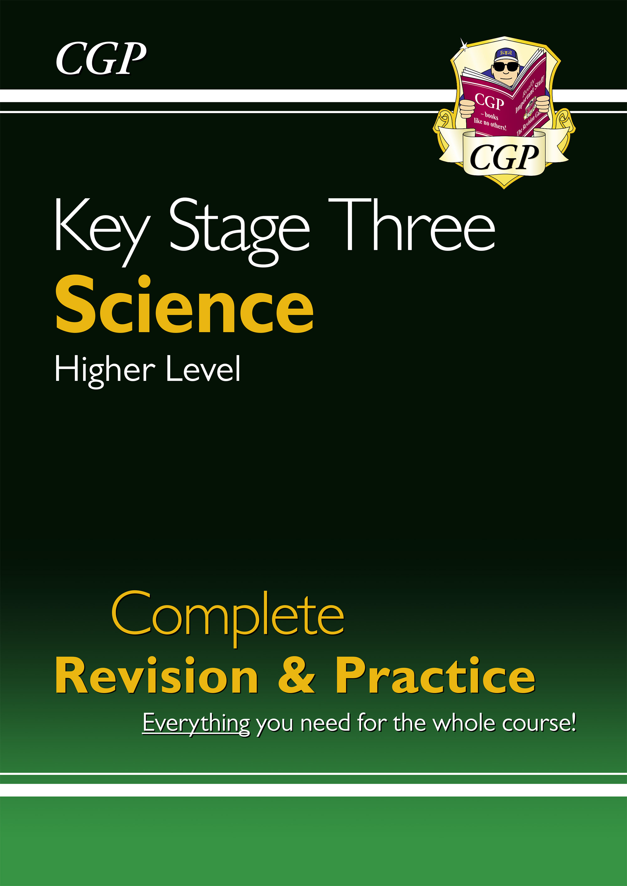 SHS34DK - New KS3 Science Complete Study & Practice-Higher