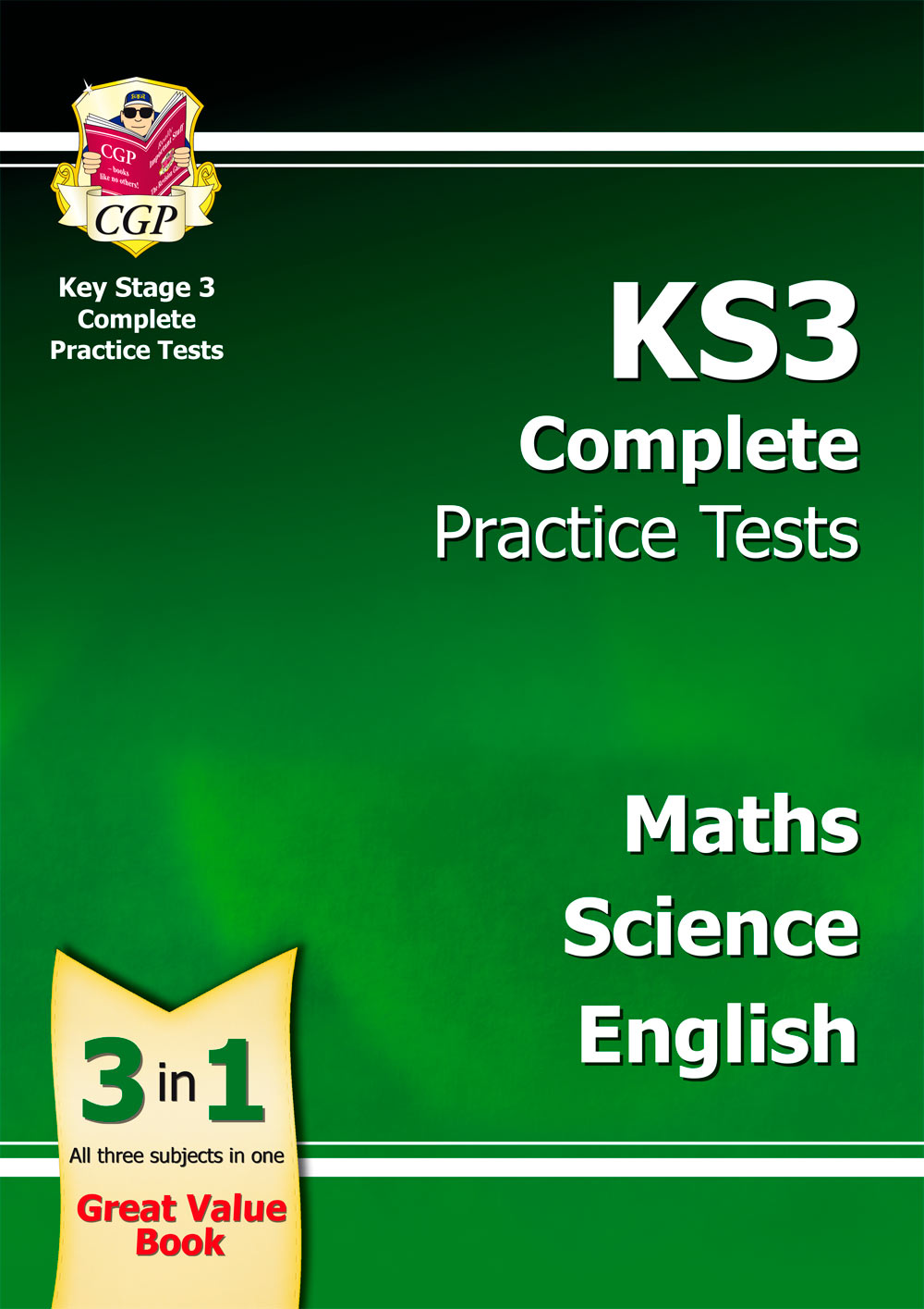 SMEB34 - KS3 Complete Practice Tests - Maths, Science & English