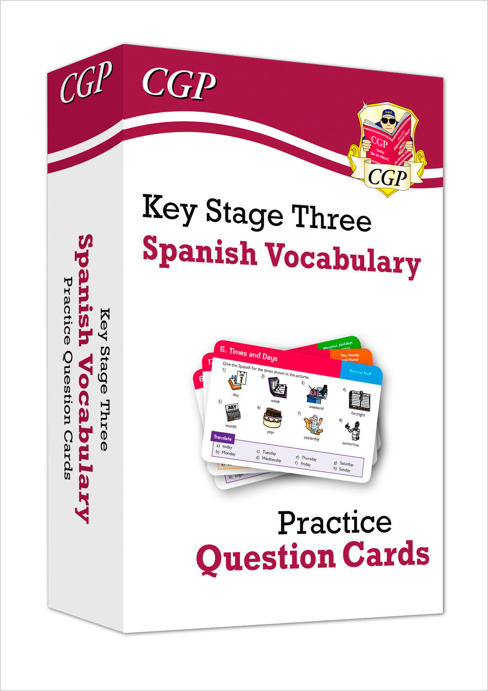 SPAVF31 - New KS3 Spanish: Vocabulary Practice Question Cards