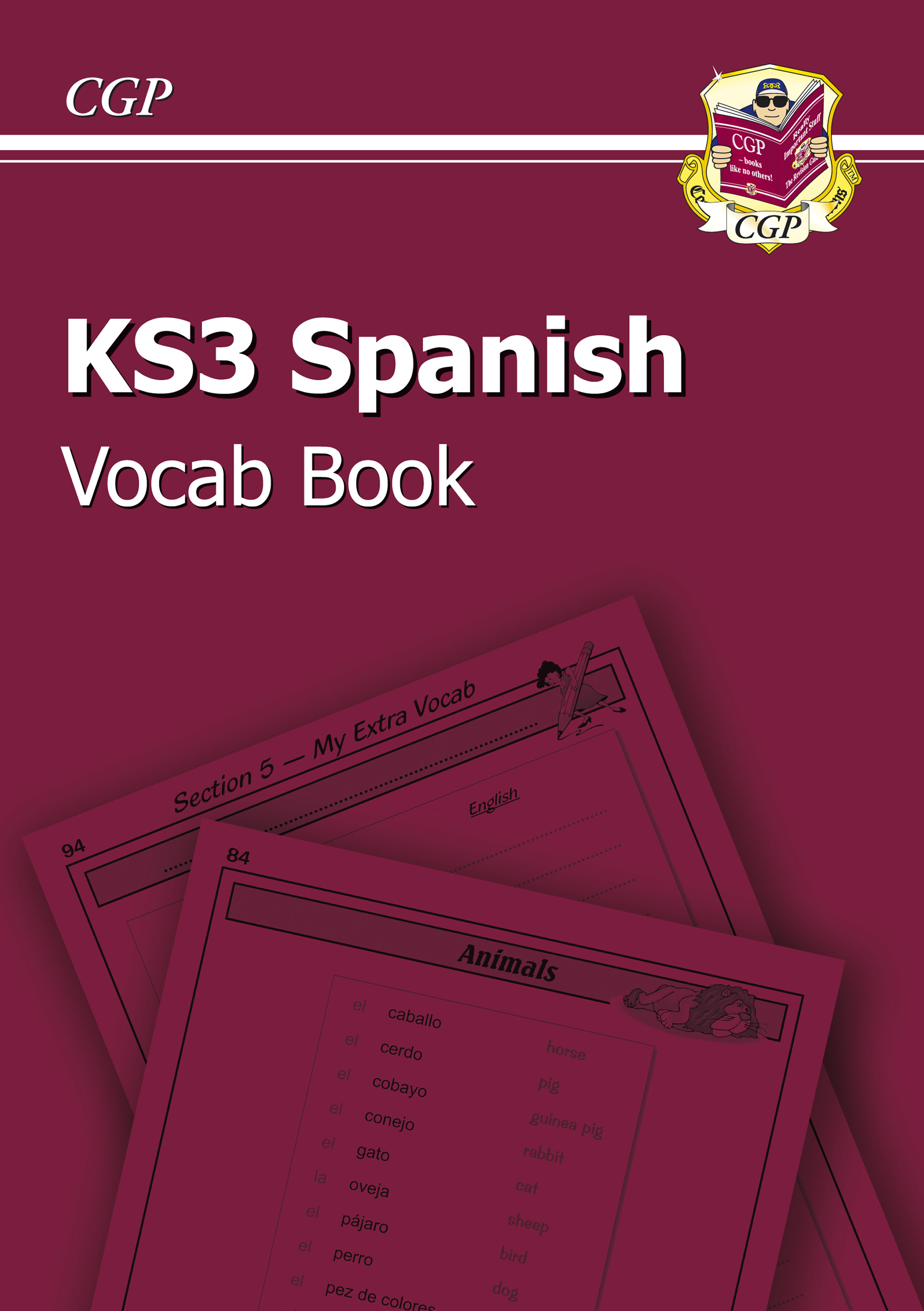 SPHIC3U - KS3 Spanish Interactive Vocab Tester Book