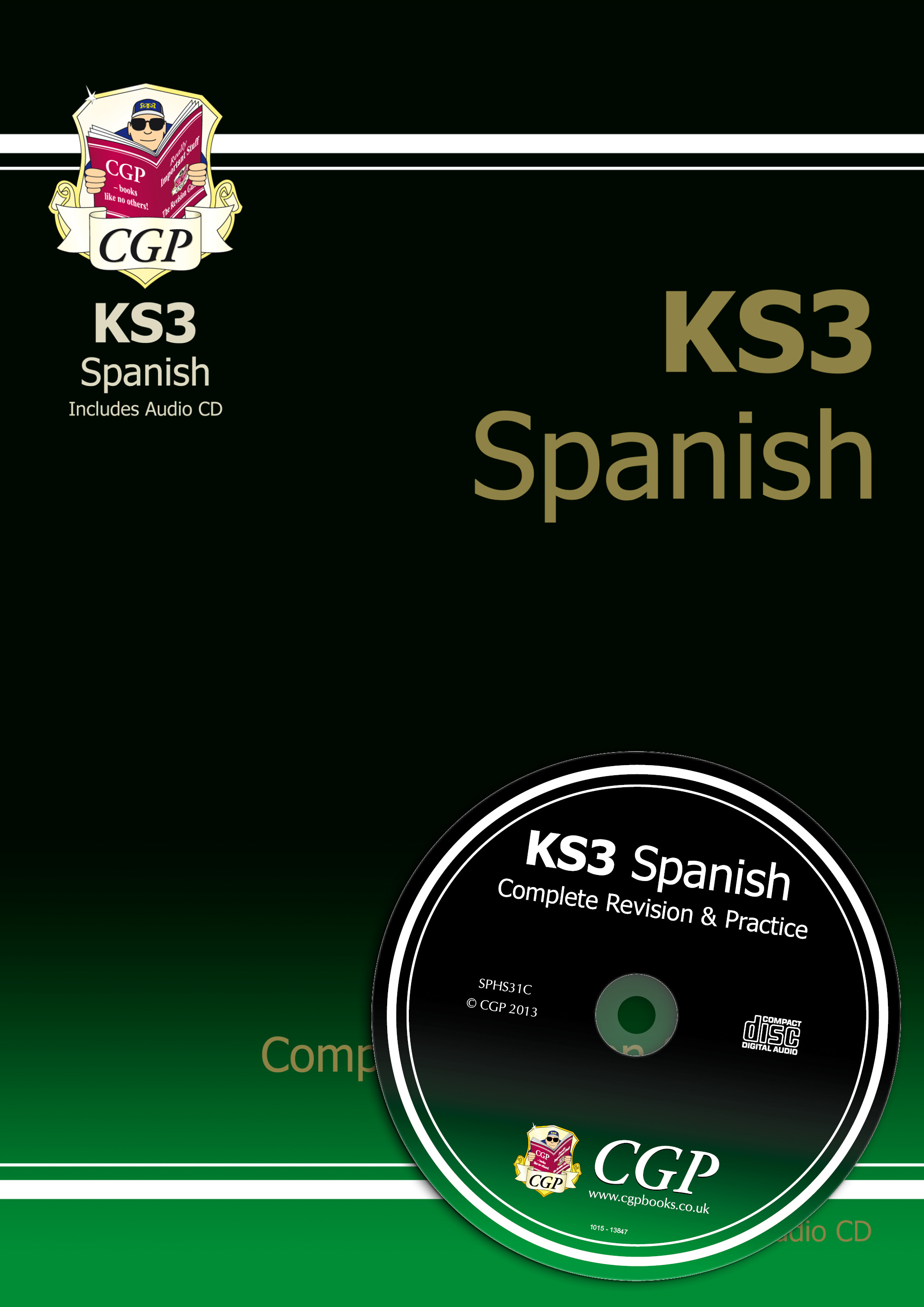 SPHS31 - KS3 Spanish Complete Revision & Practice with Audio CD