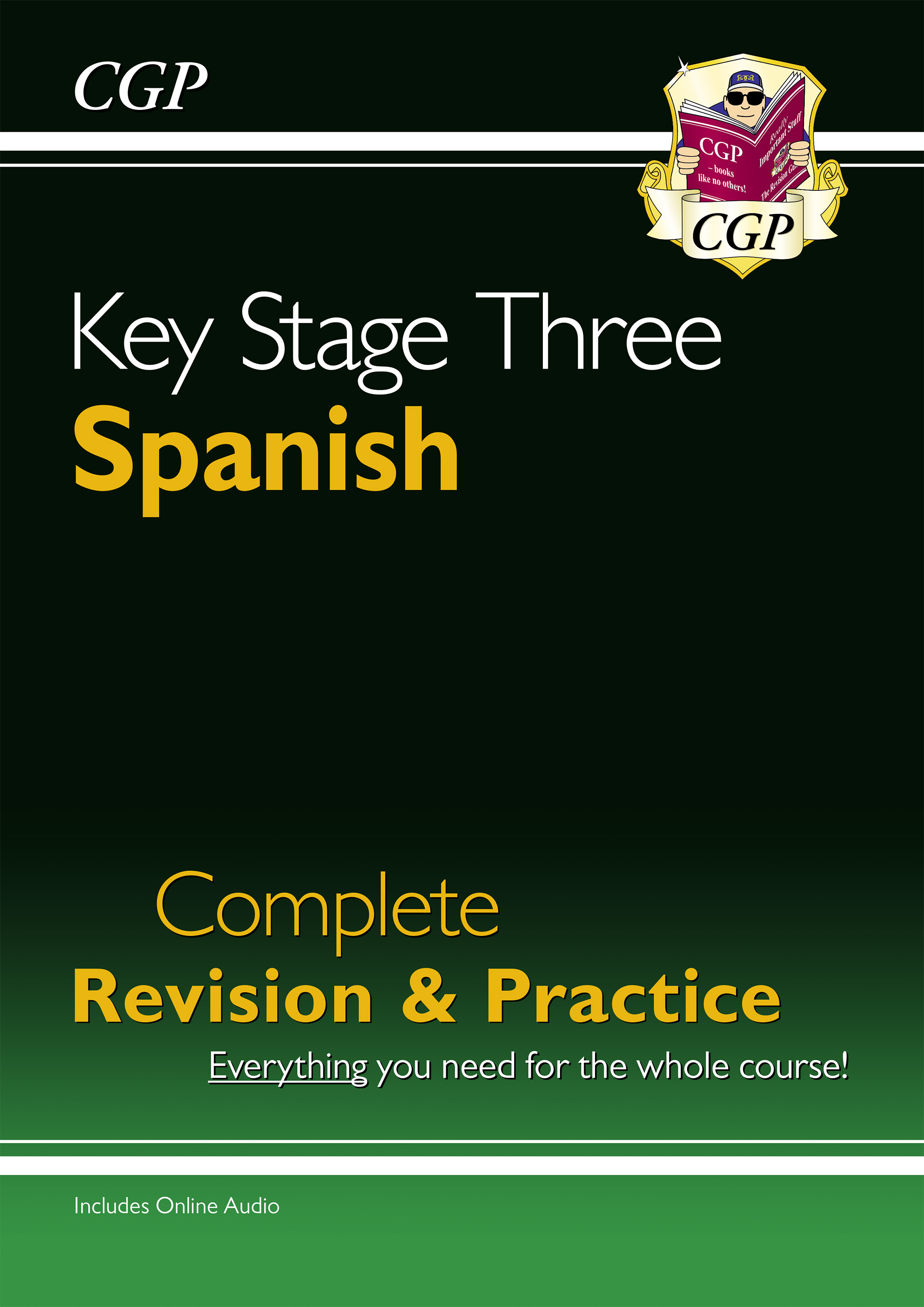 SPHS32D - New KS3 Spanish Complete Revision & Practice with Free Online Audio