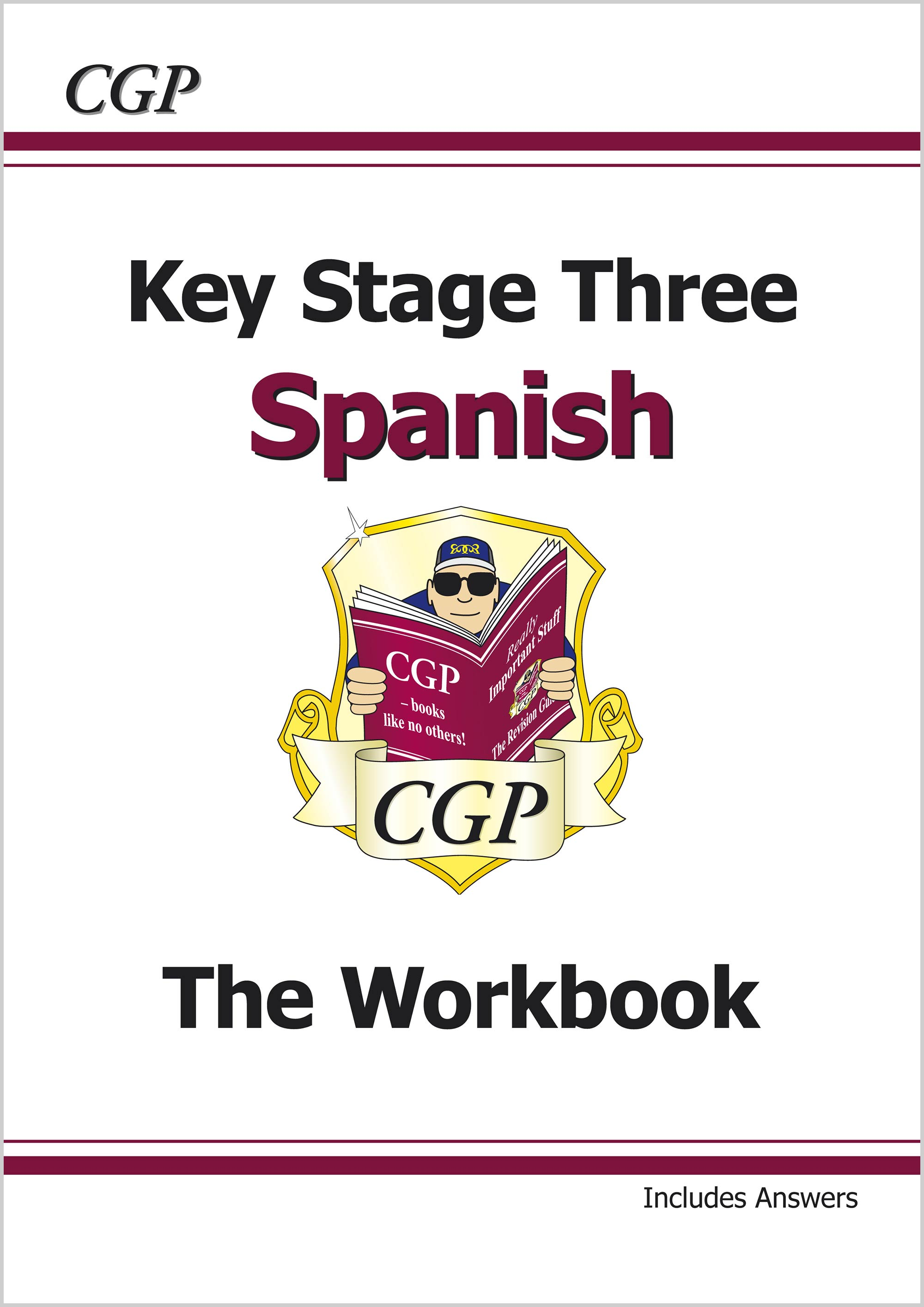 SPHW31 - KS3 Spanish Workbook with Answers