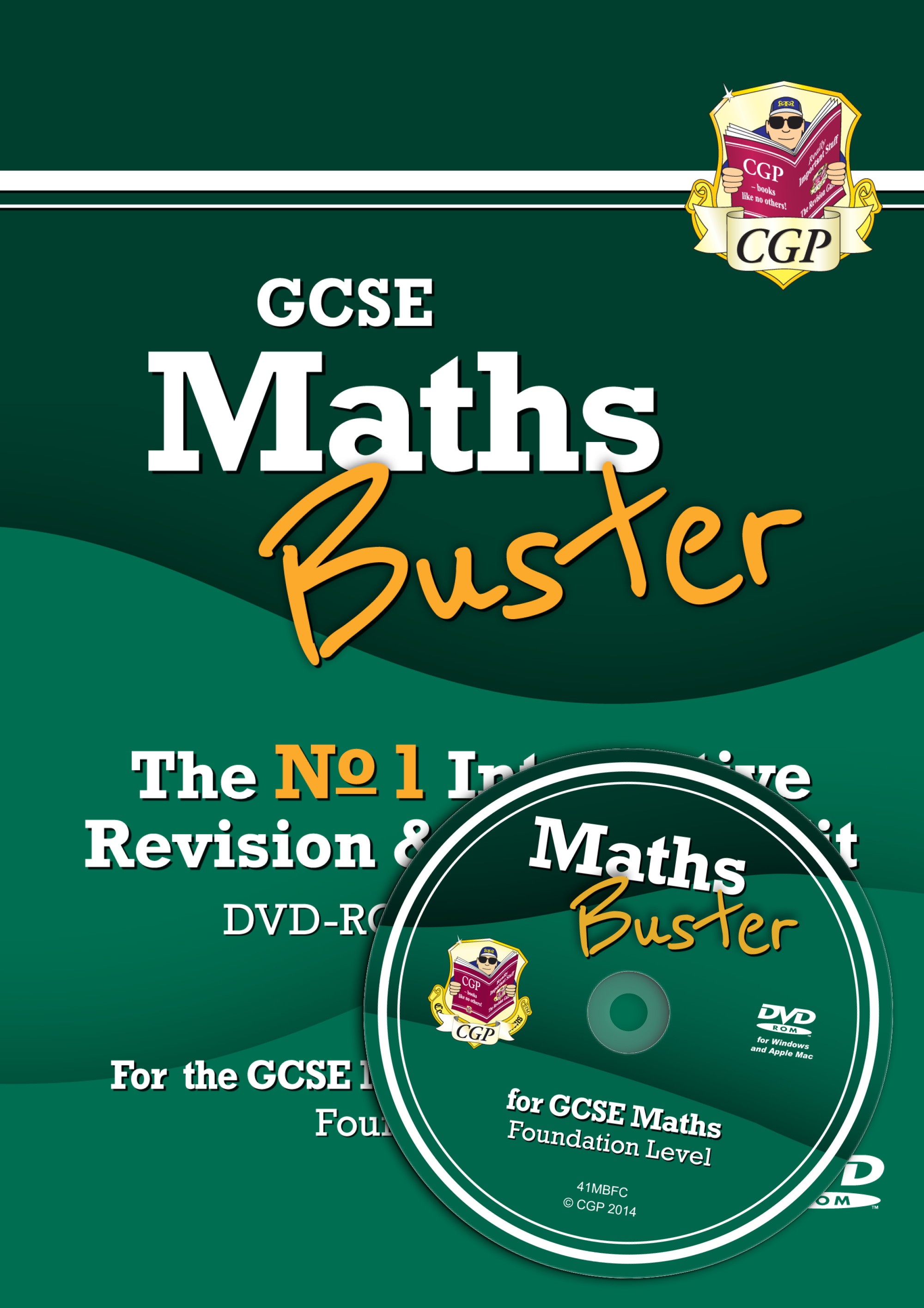 42MBFC3 - MathsBuster: GCSE Maths Interactive Revision (Grade 9-1 Course) Foundation - DVD-ROM