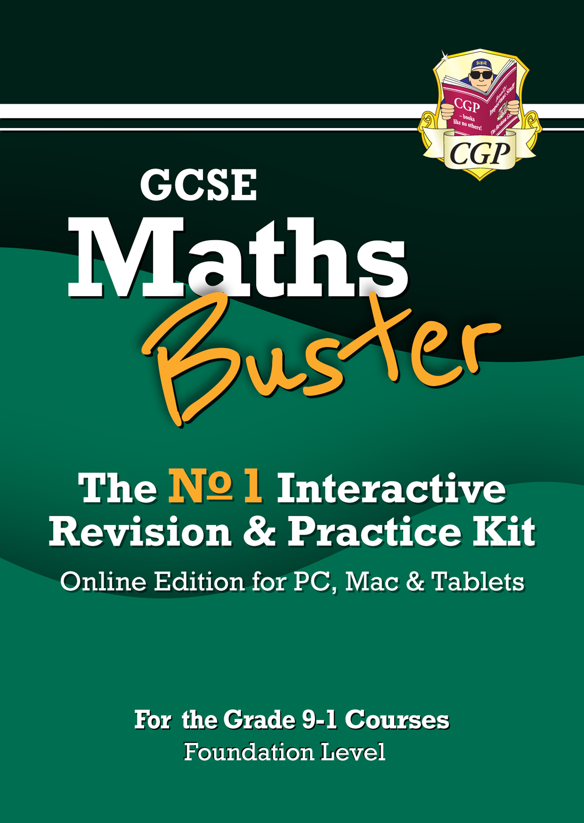 42MBFD3 - MathsBuster: GCSE Maths Interactive Revision (Grade 9-1 Course) Foundation - Online Editio
