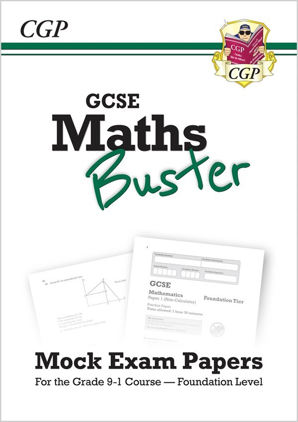 42MBFQ - MathsBuster: GCSE Maths Mock Exam Paper Book (Grade 9-1 Course) -  Foundation