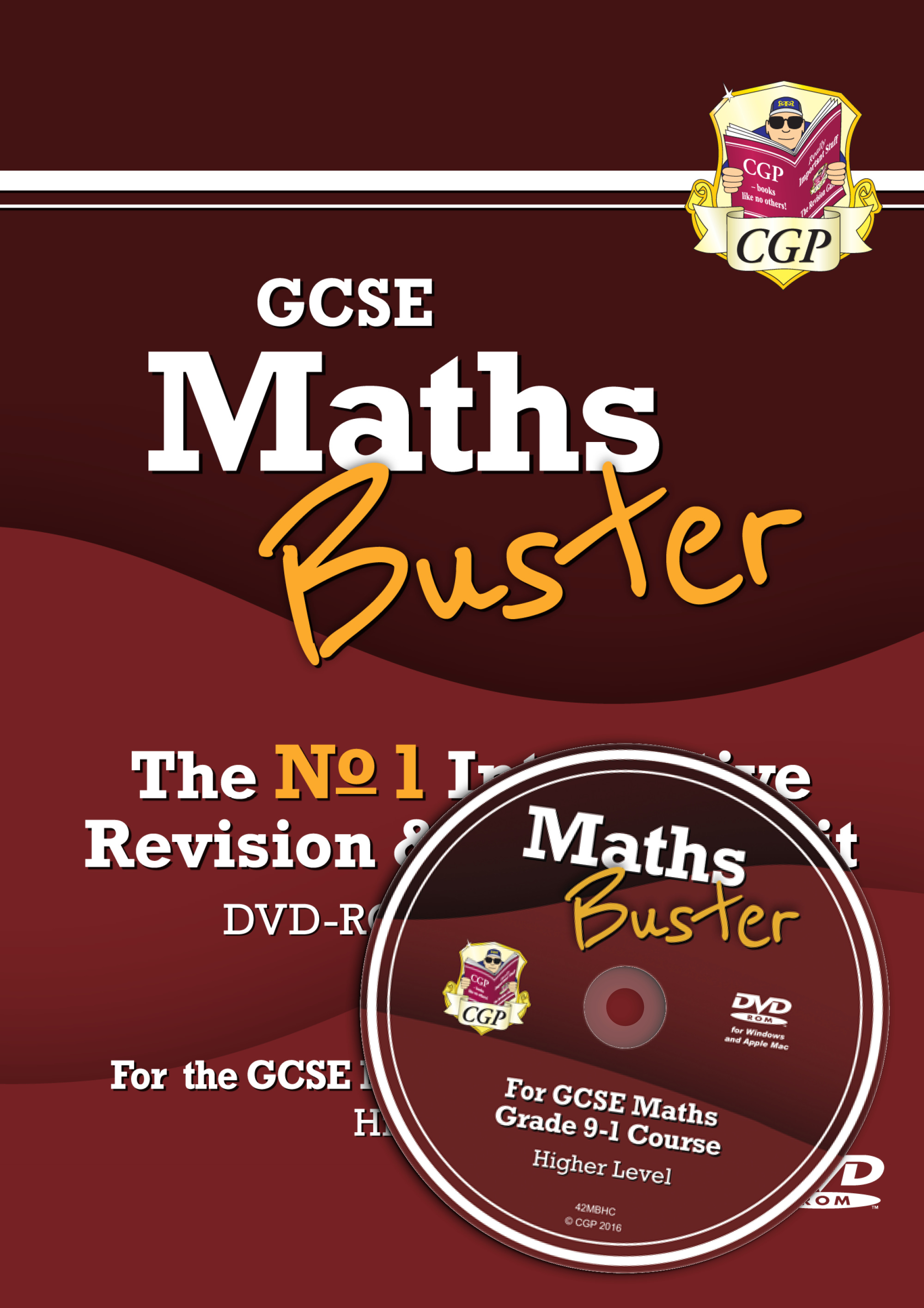 42MBHC3 - MathsBuster: GCSE Maths Interactive Revision (Grade 9-1 Course) Higher - DVD-ROM