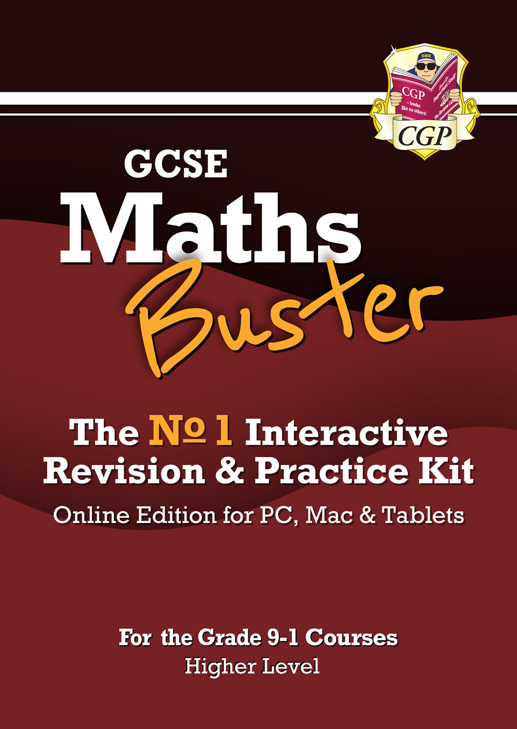 42MBHG3 - MathsBuster: GCSE Maths Interactive Revision (Grade 9-1 Course) Higher - Online Edition