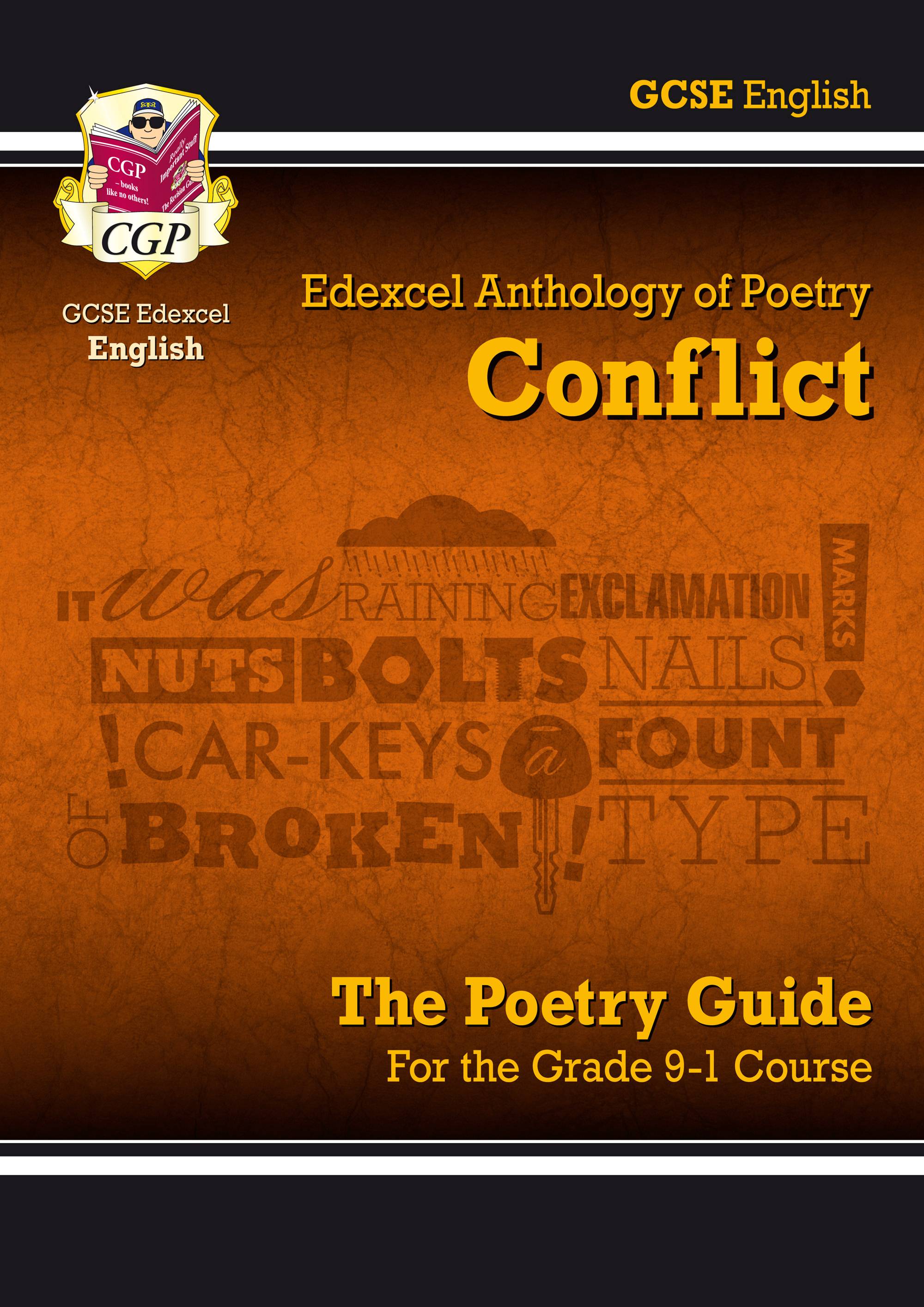 ACEHR41 - New GCSE English Literature Edexcel Poetry Guide: Conflict Anthology - for the Grade 9-1 C