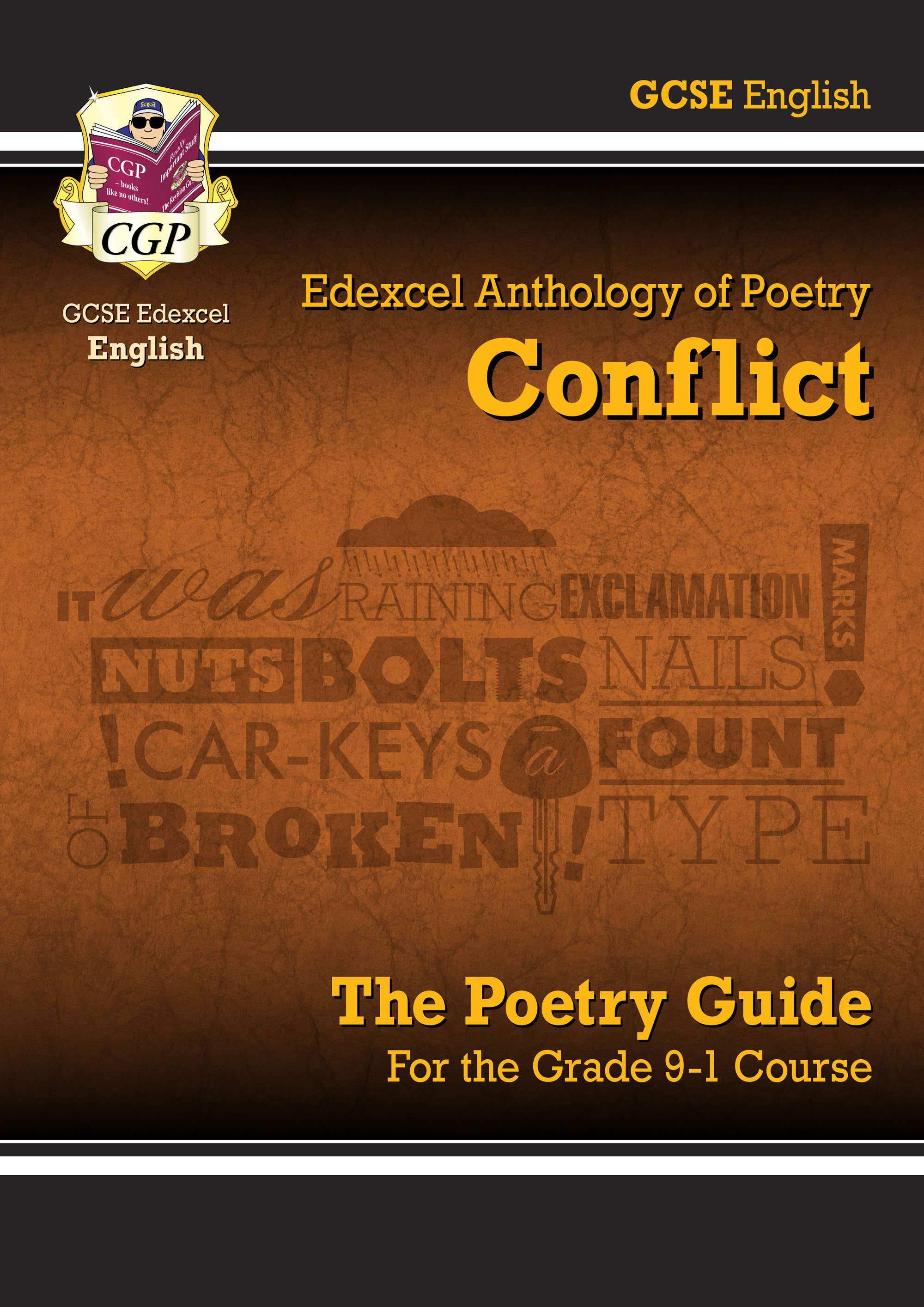 ACEHR41DK - New GCSE English Literature Edexcel Poetry Guide: Conflict Anthology - for the Grade 9-1