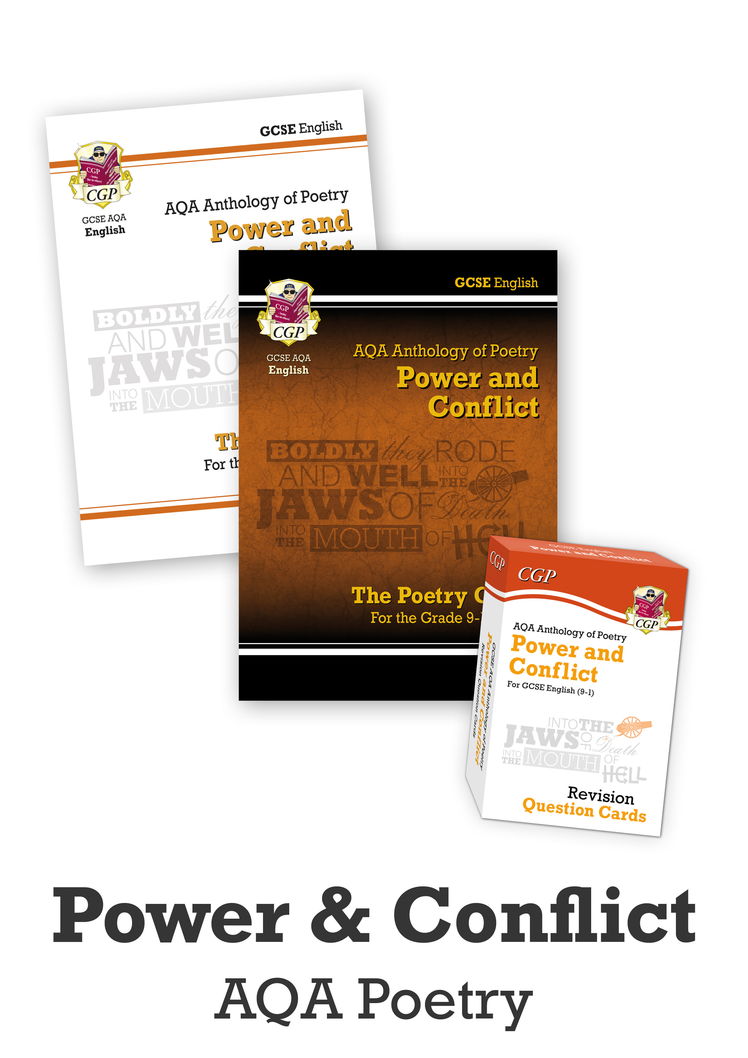 ACHCUB41 - GCSE Home Learning Essentials Bundle: English Literature AQA Poetry - Power & Conflict